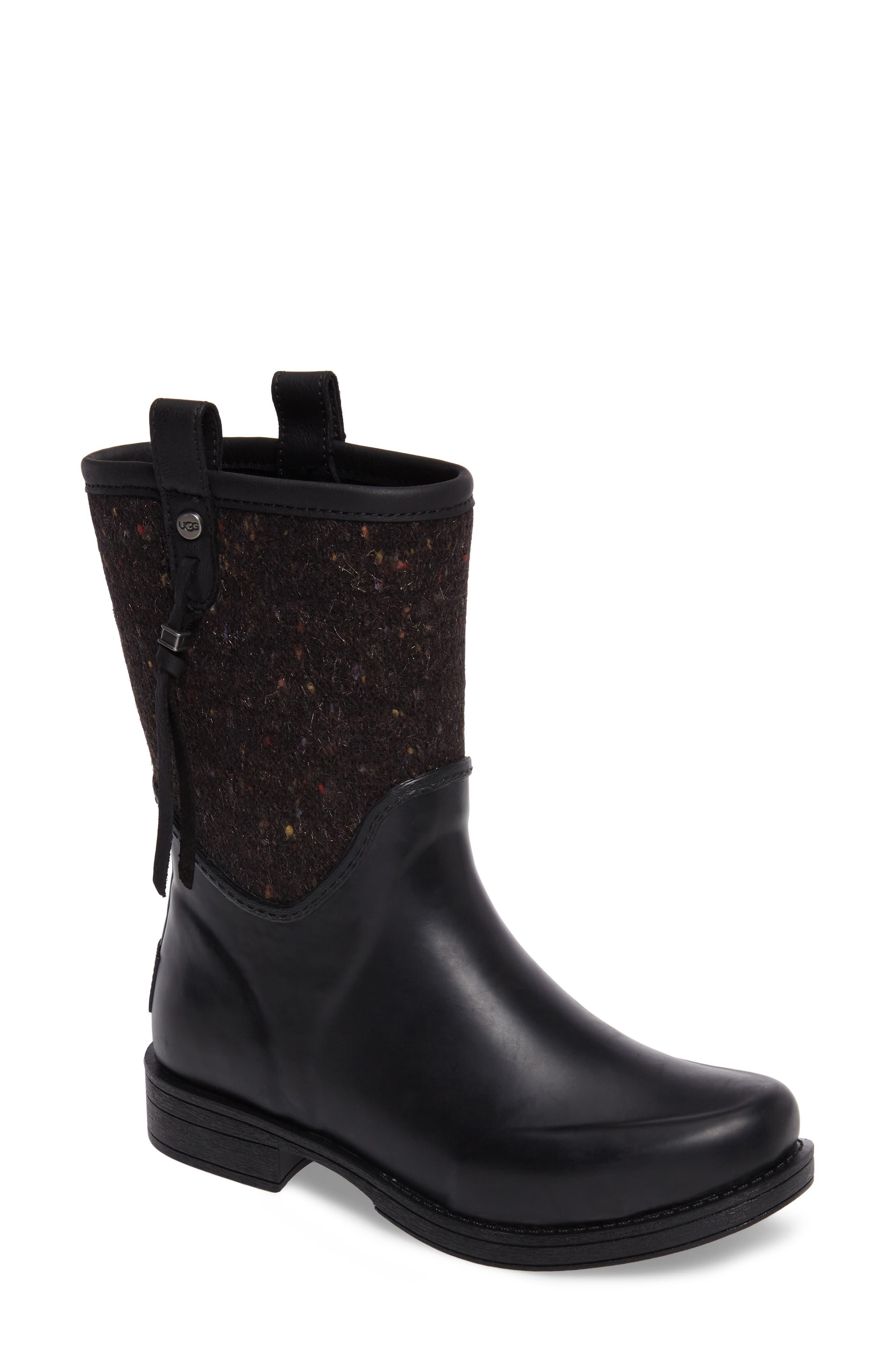 Stephanson Rain Boot,                         Main,                         color, 001