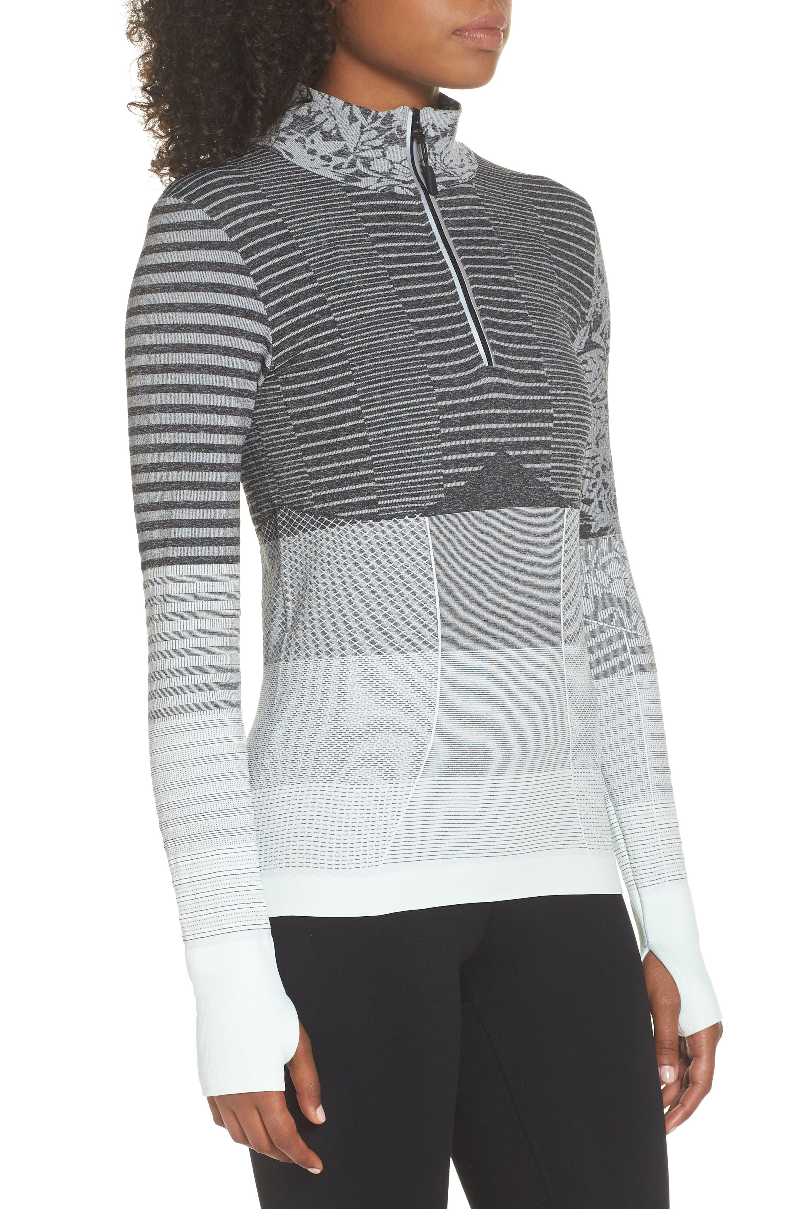 Vitality Quarter Zip Pullover,                             Alternate thumbnail 7, color,
