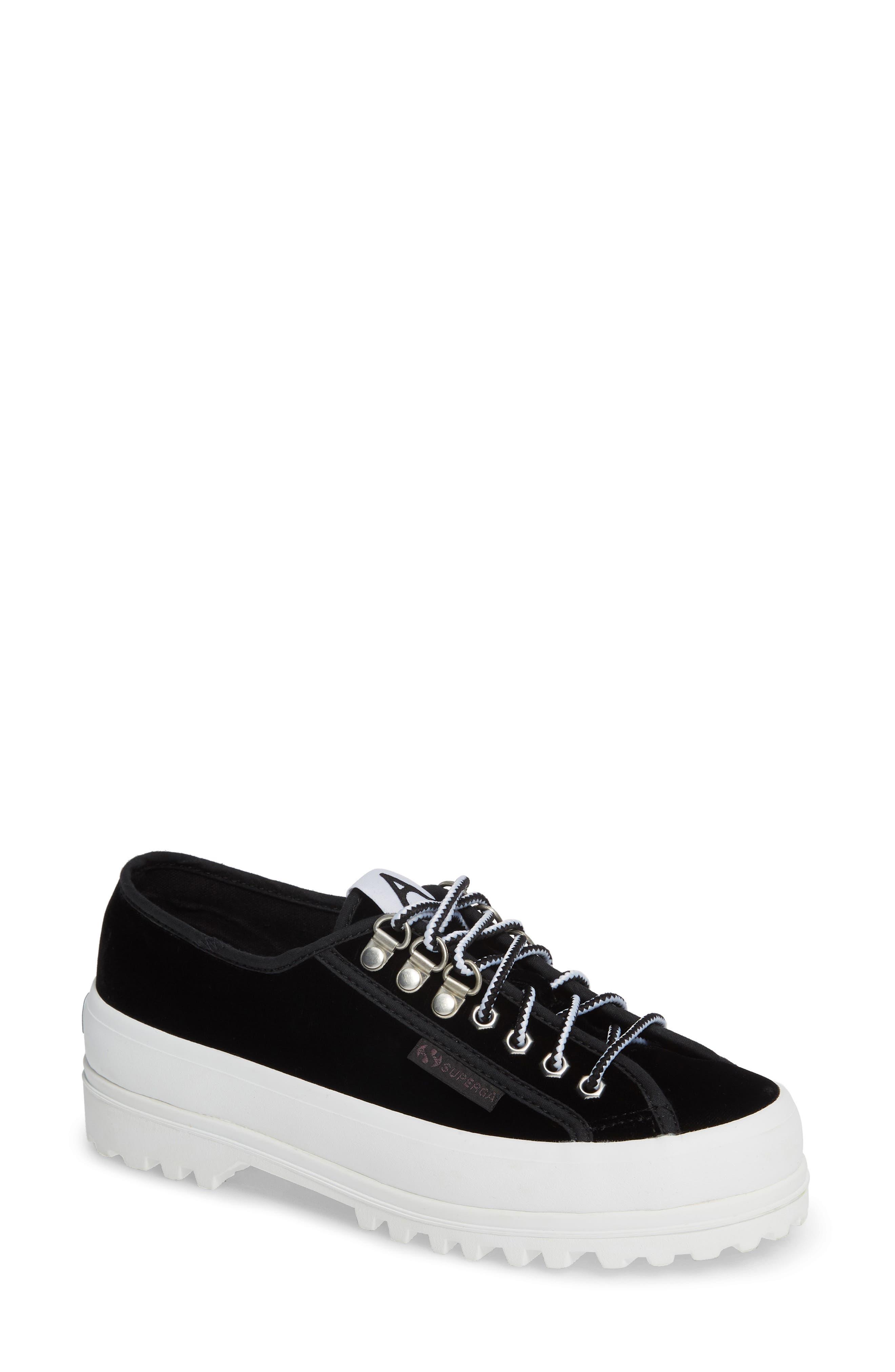 x Alexa Chung 2748 Veltvalpinaw Lugged Platform Sneaker,                             Main thumbnail 1, color,                             001