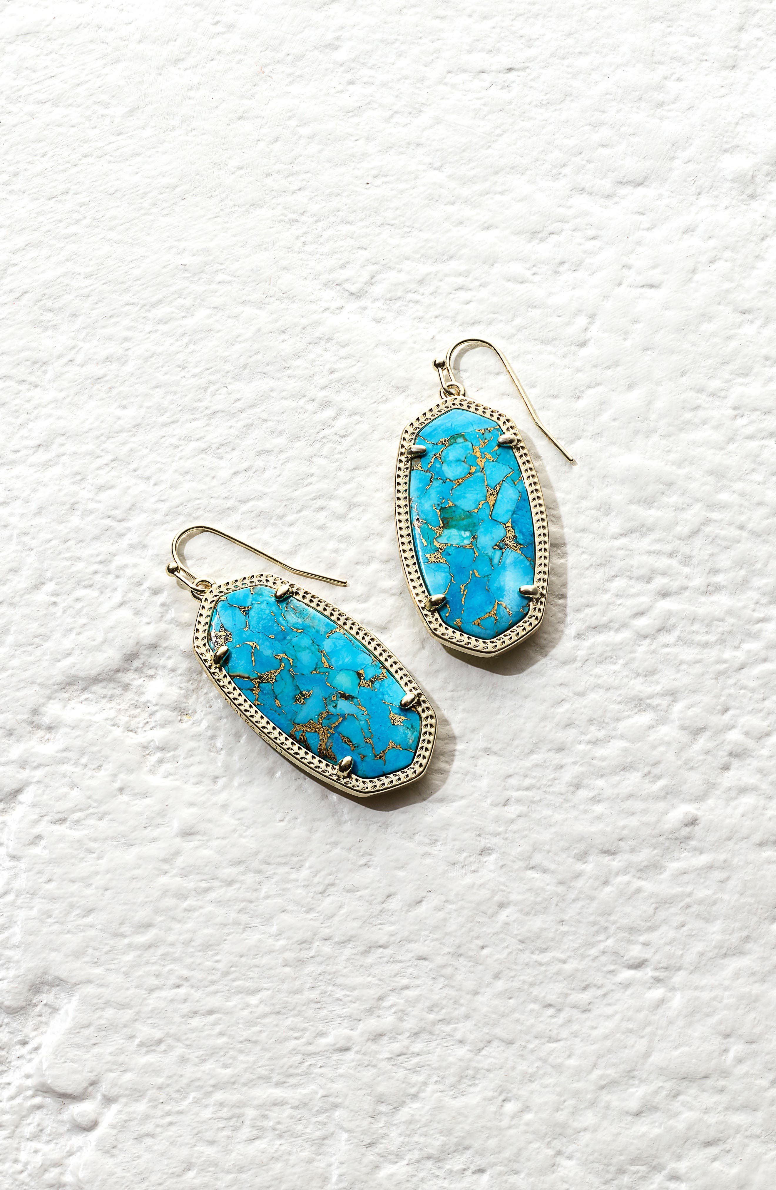 Danielle - Large Oval Statement Earrings,                             Alternate thumbnail 391, color,