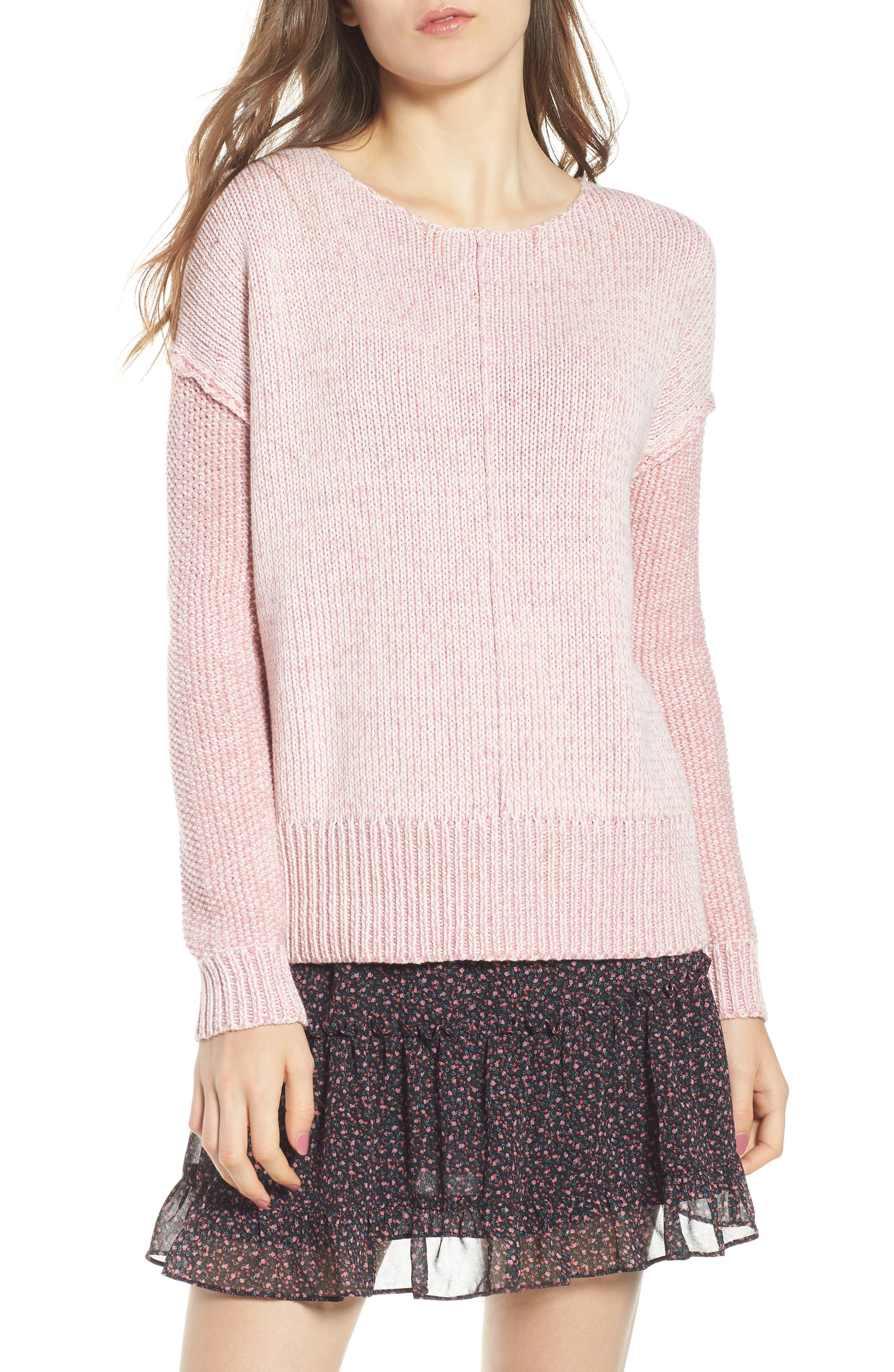 Lola Reversible Twist Sweater,                             Main thumbnail 3, color,