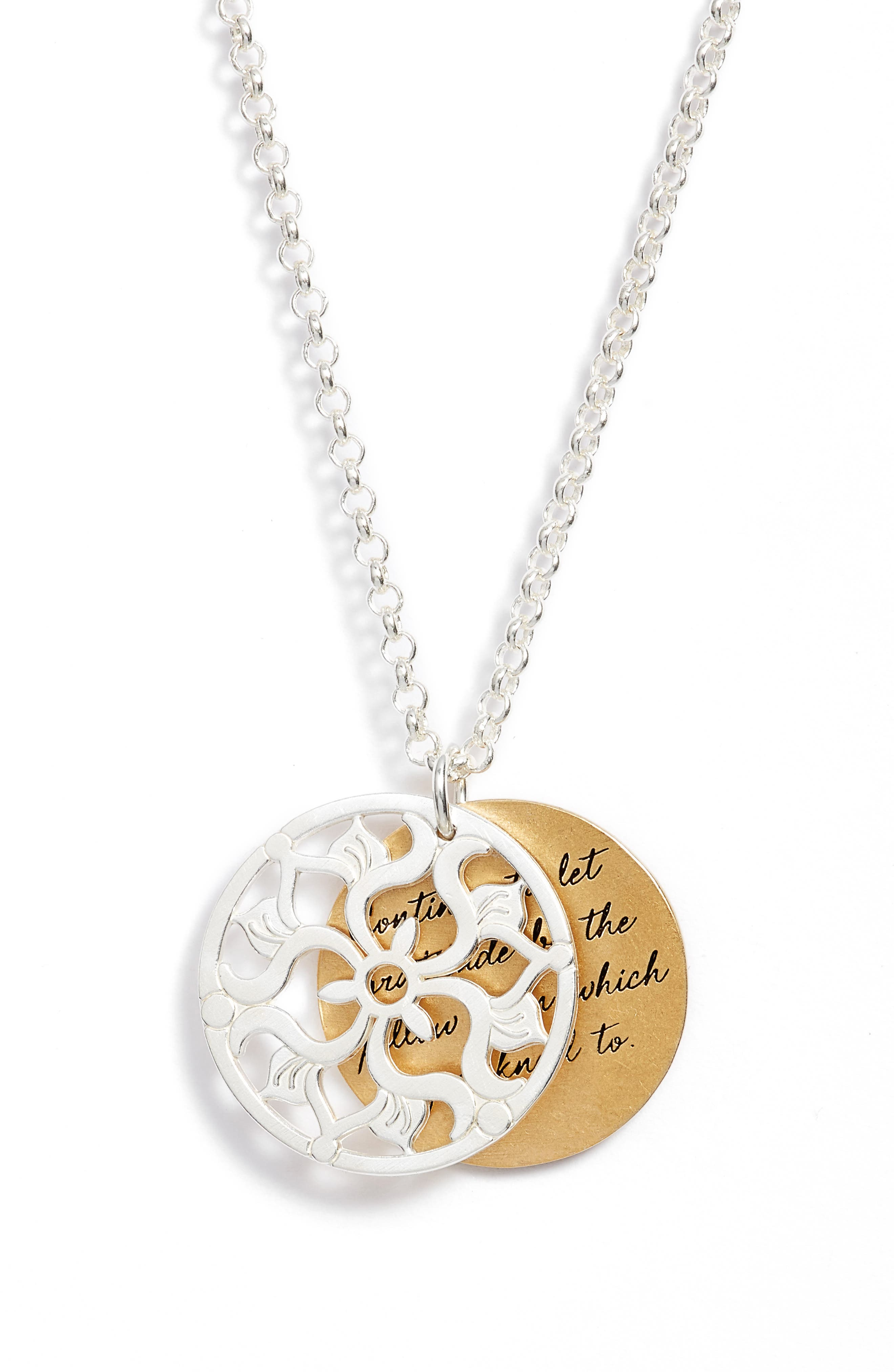 The Legacy Collection - Continue to Let Gratitude... Pendant Necklace,                             Alternate thumbnail 3, color,                             040