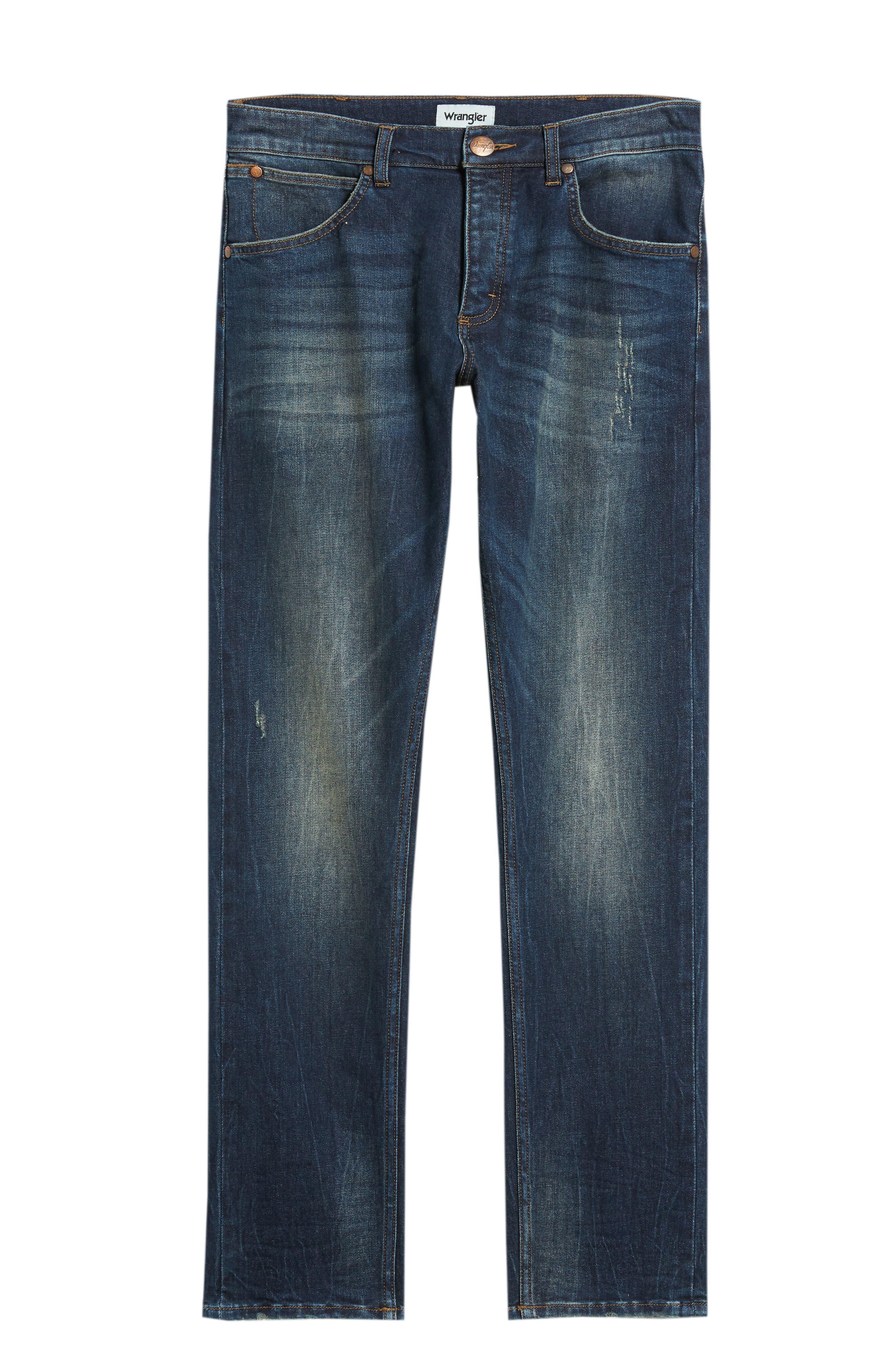 Larston Slim Fit Jeans,                             Alternate thumbnail 6, color,                             VINTAGE DARK