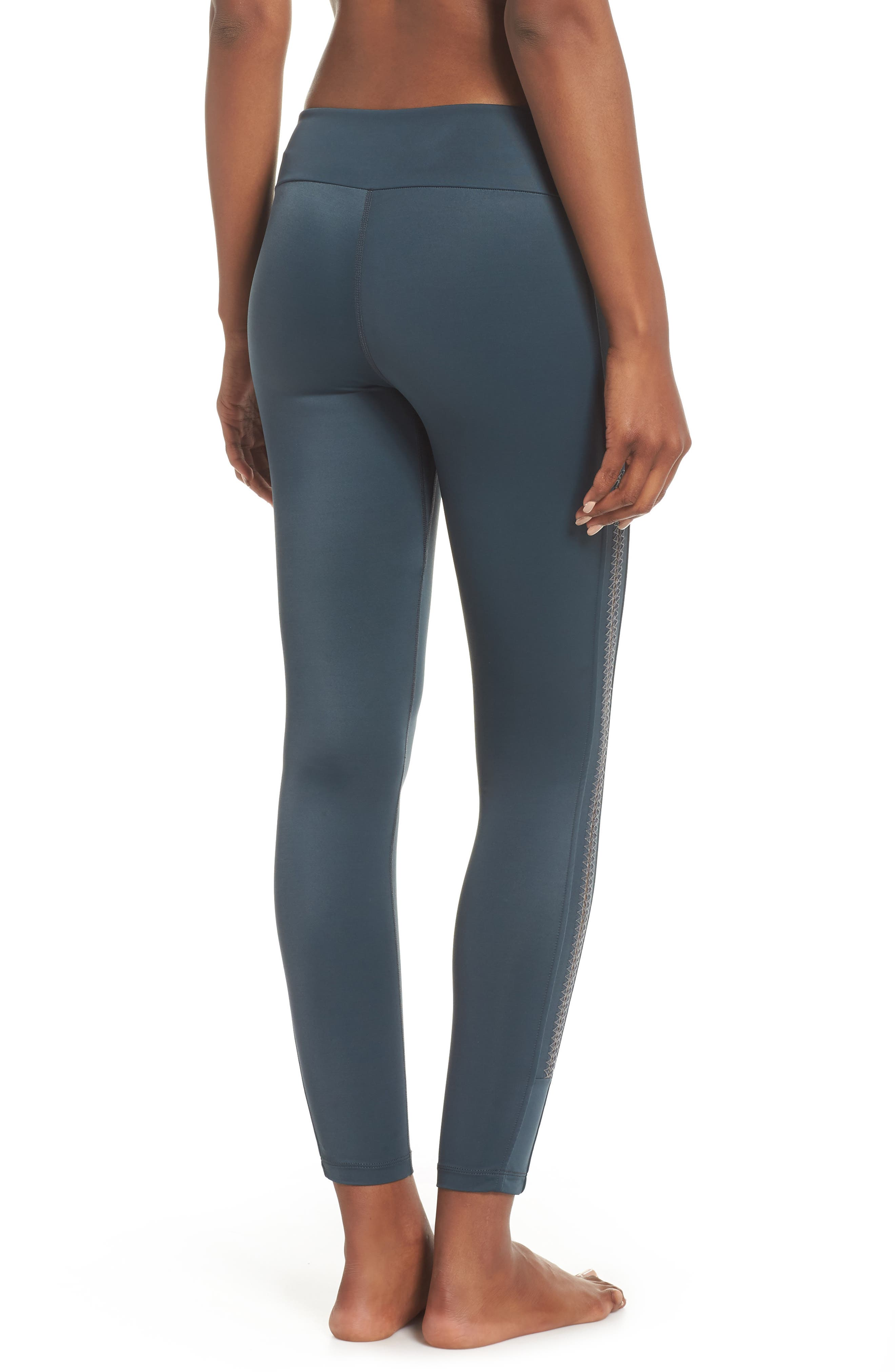 Crocheta Tourmaline High Waist Leggings,                             Alternate thumbnail 2, color,                             301