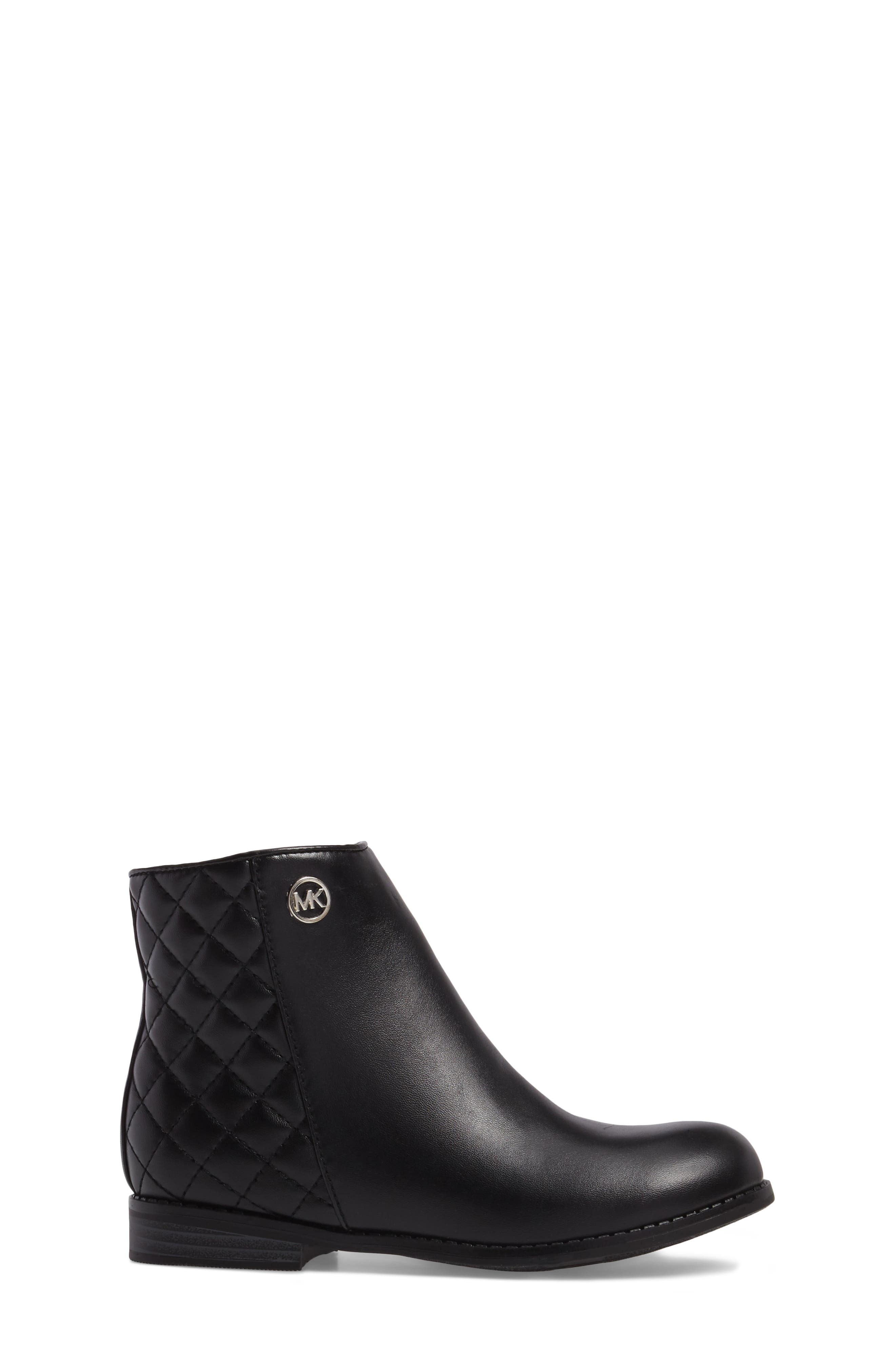 Emma Dede Quilted Bootie,                             Alternate thumbnail 3, color,                             003