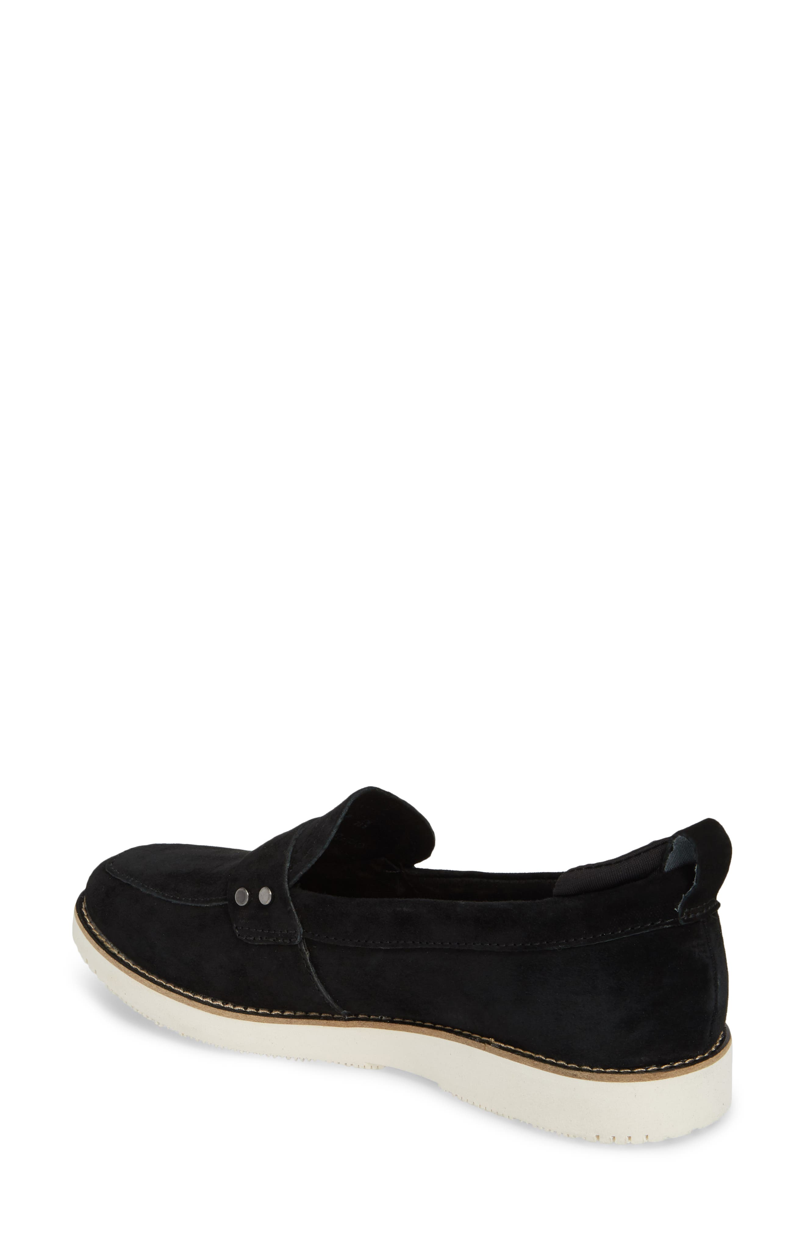 HUSH PUPPIES<SUP>®</SUP>,                             Chowchow Loafer,                             Alternate thumbnail 2, color,                             001