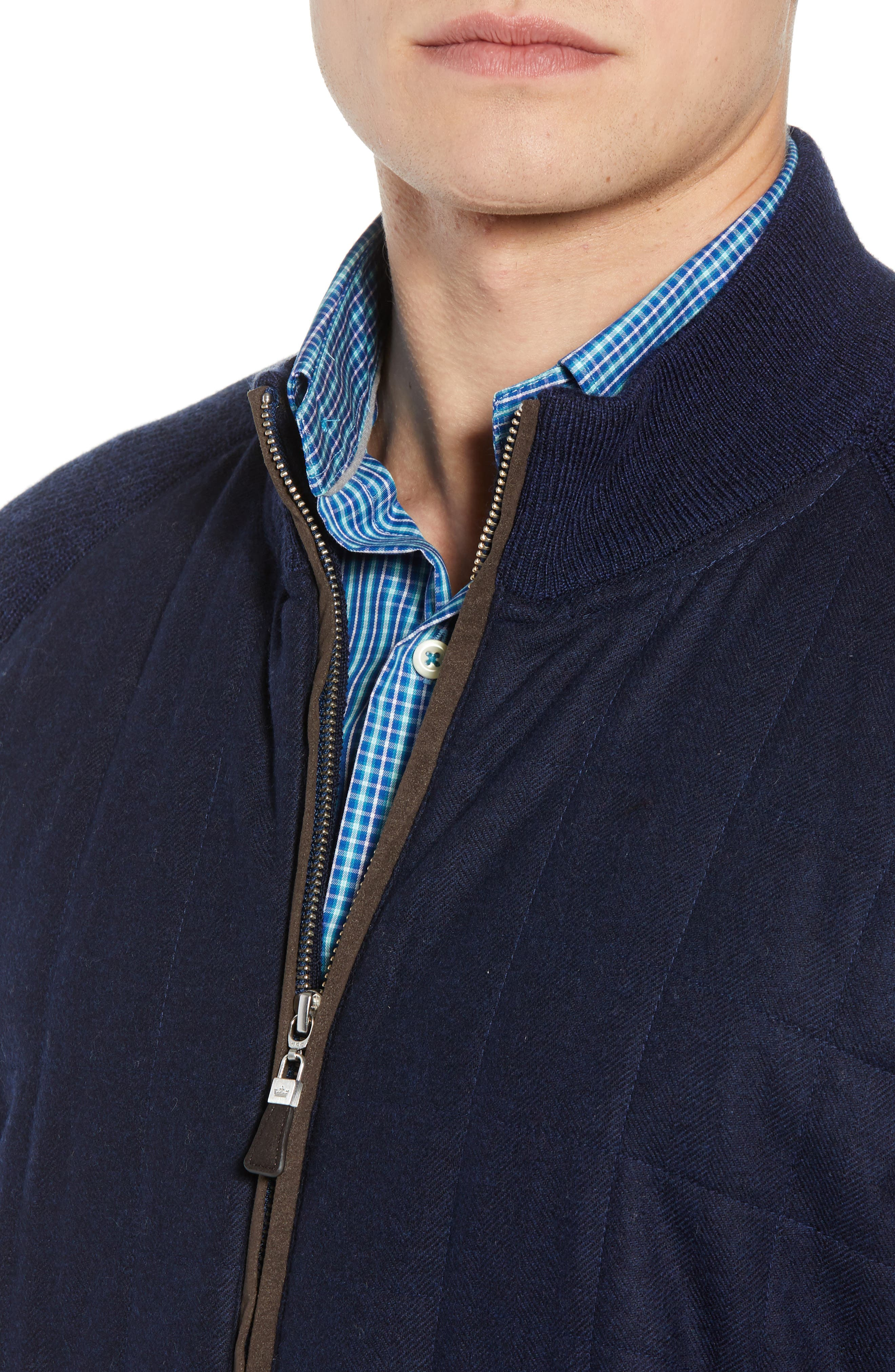 Quilted Zip Jacket,                             Alternate thumbnail 4, color,                             410