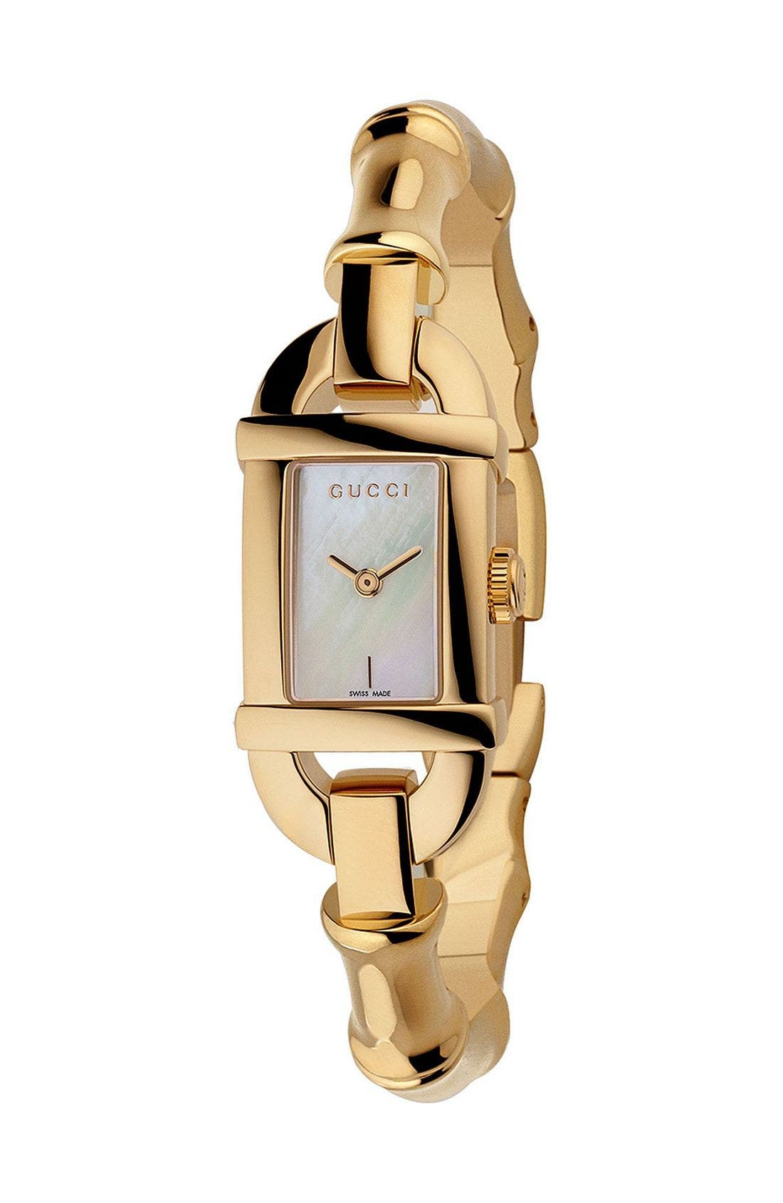 'Bamboo Collection' Watch, Main, color, 710