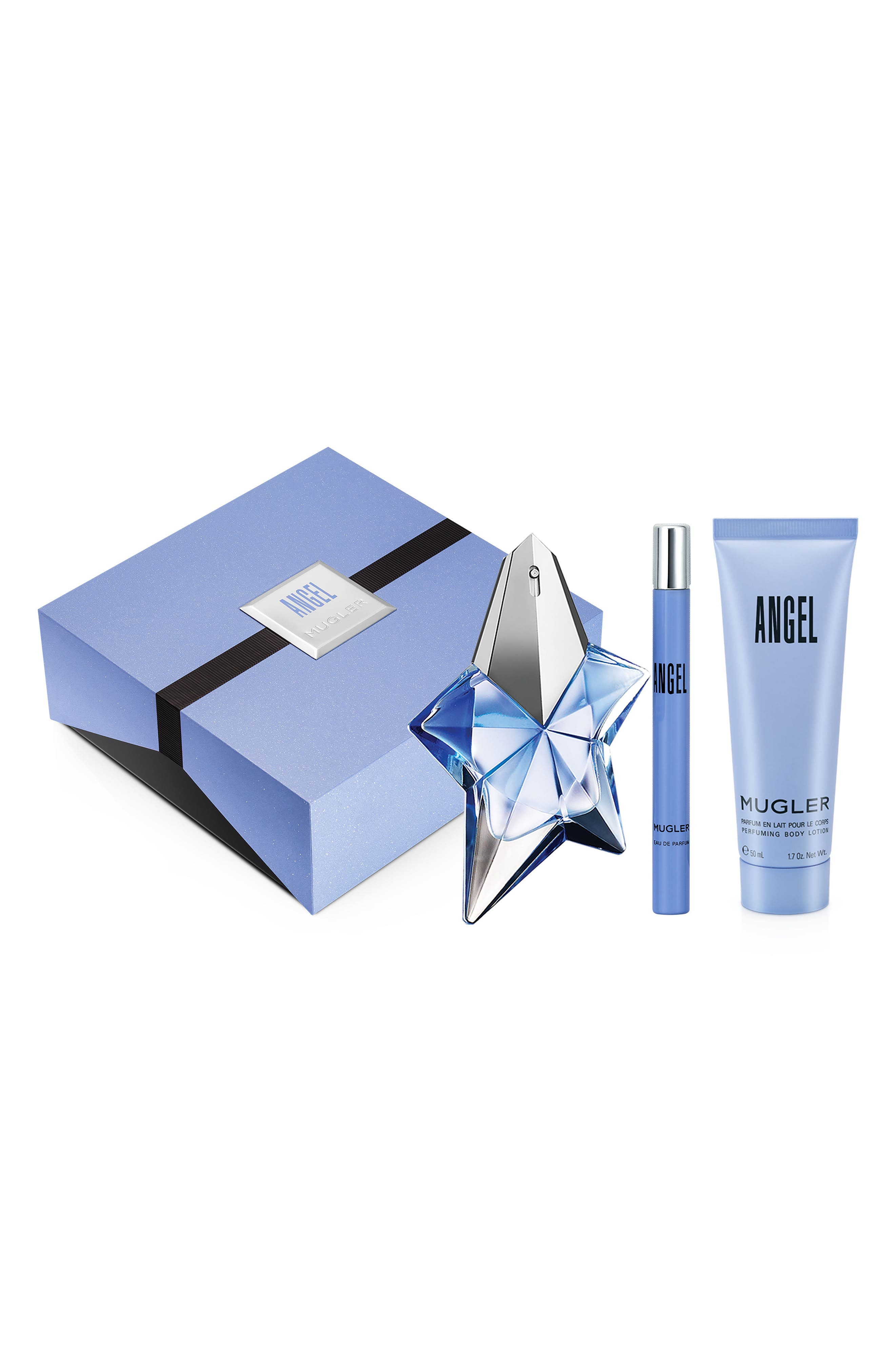 Angel by Mugler Recruitment Set,                             Main thumbnail 1, color,                             000