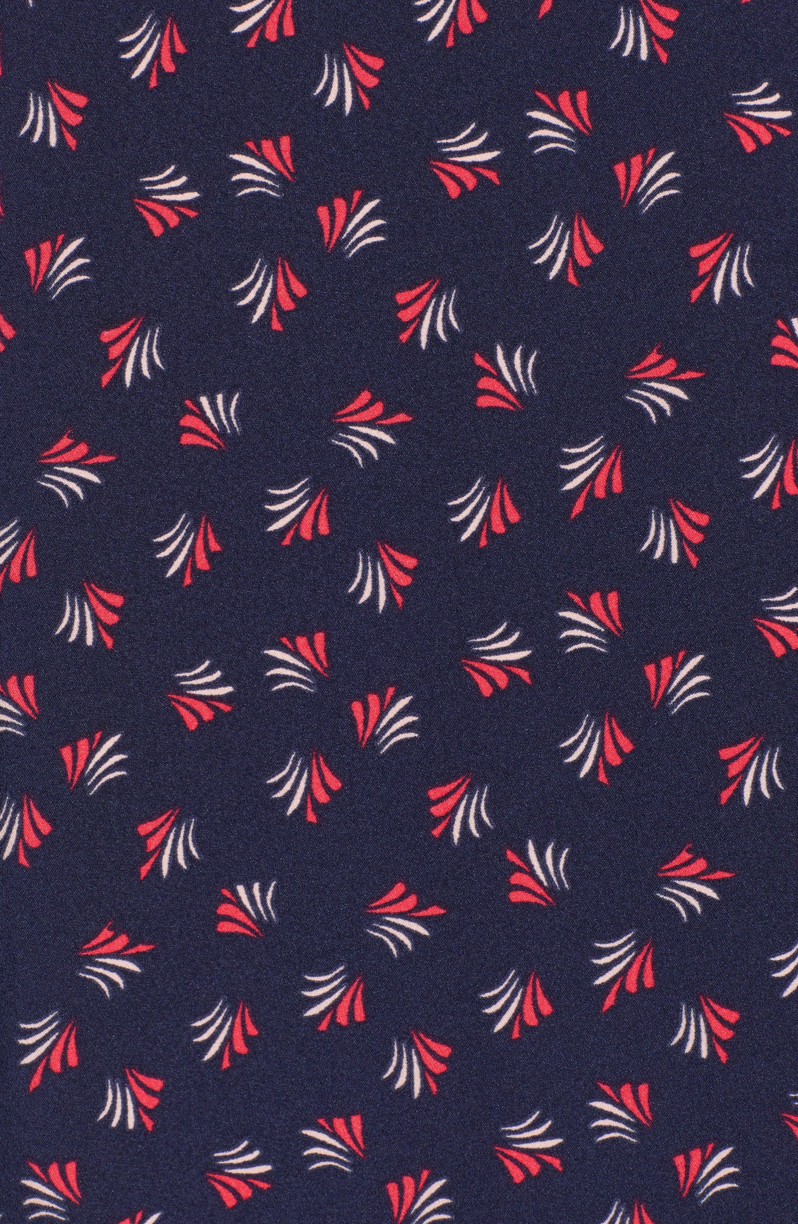 Button Back Ruffle Hem Dress,                             Alternate thumbnail 46, color,