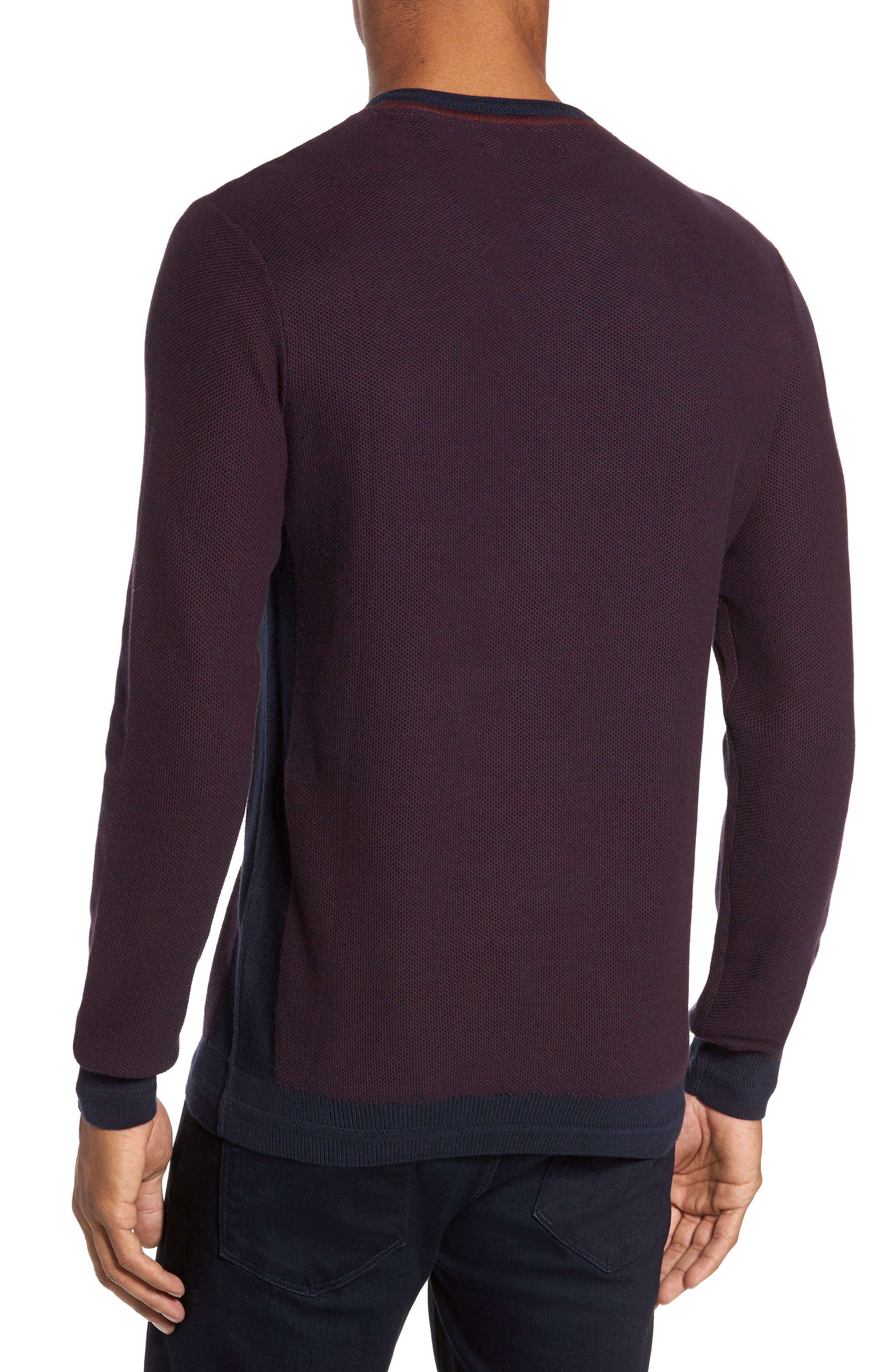 Space Dye Slim Fit Sweater,                             Alternate thumbnail 6, color,