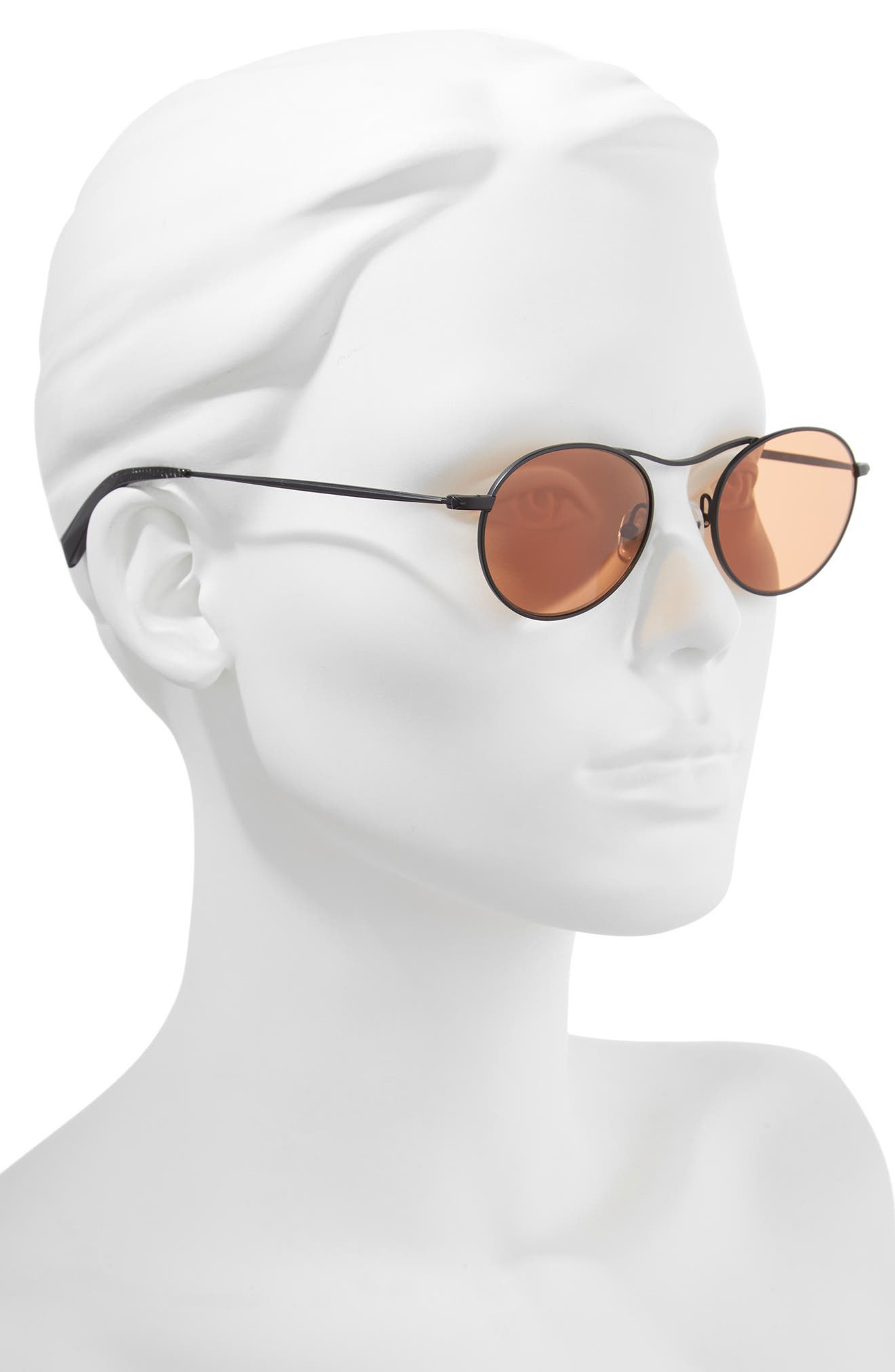 KENDALL + KYLIE,                             Tasha 49mm Oval Sunglasses,                             Alternate thumbnail 2, color,                             005