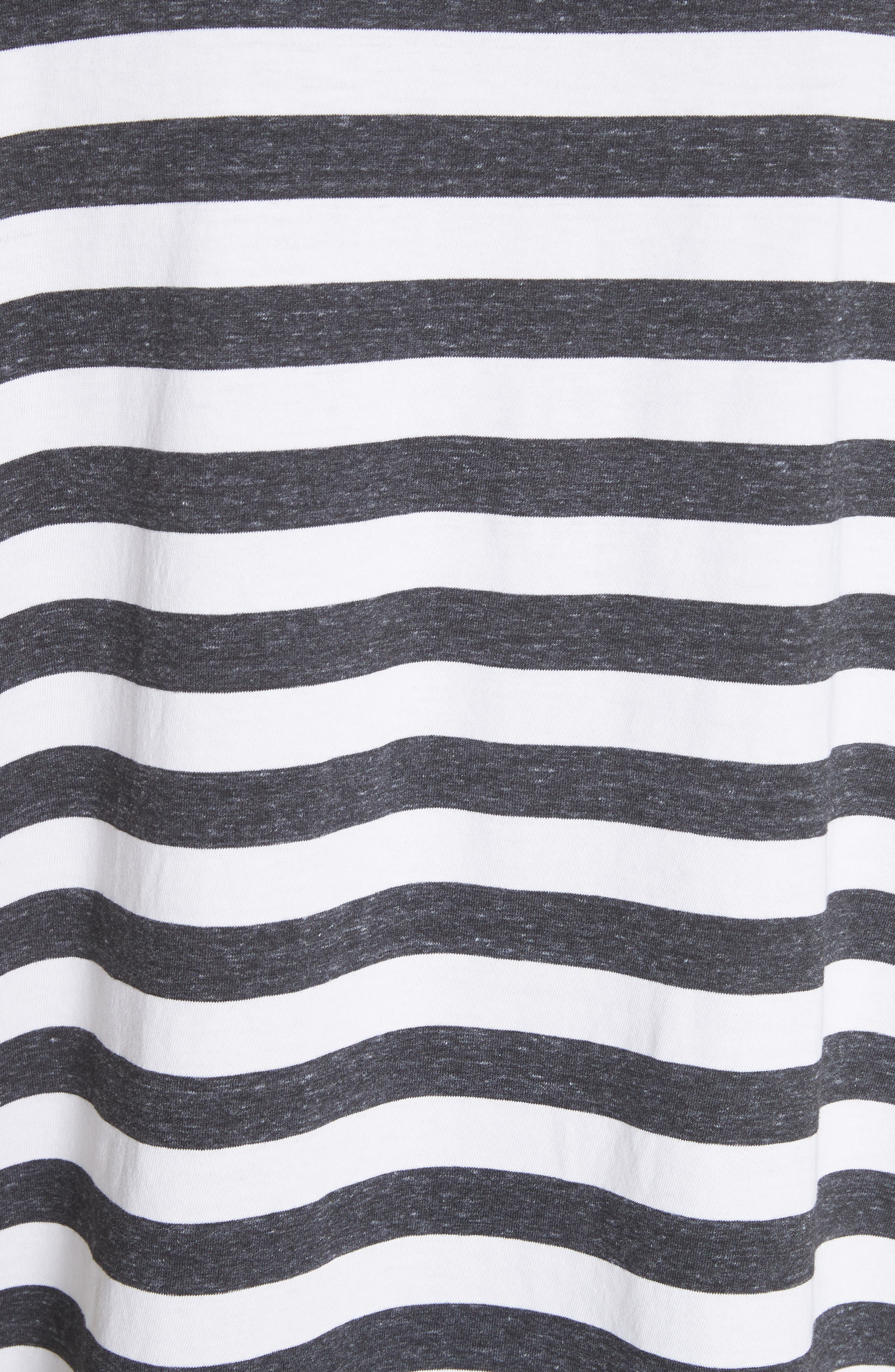 The Ruffle Stripe Tee,                             Alternate thumbnail 5, color,                             020