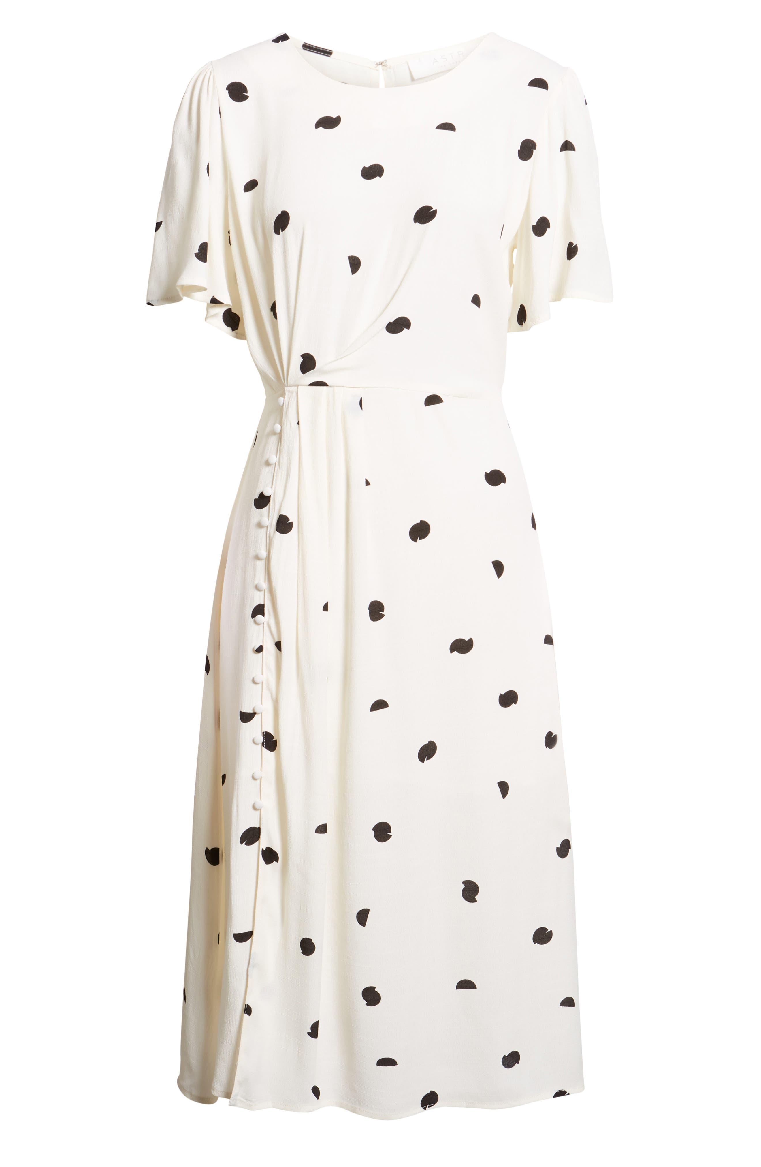 ASTR THE LABEL,                             Ebony Dress,                             Alternate thumbnail 8, color,                             900