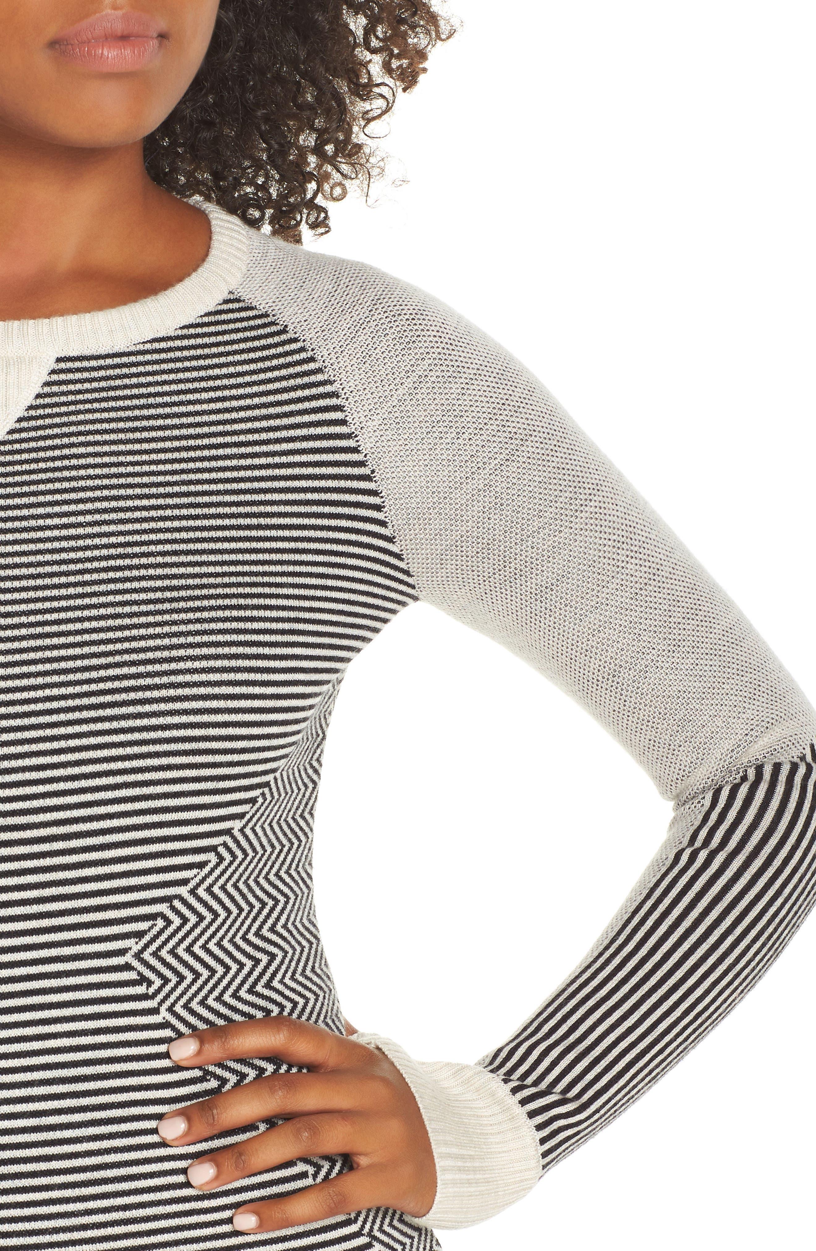 Dacono Ski Sweater,                             Alternate thumbnail 4, color,                             001