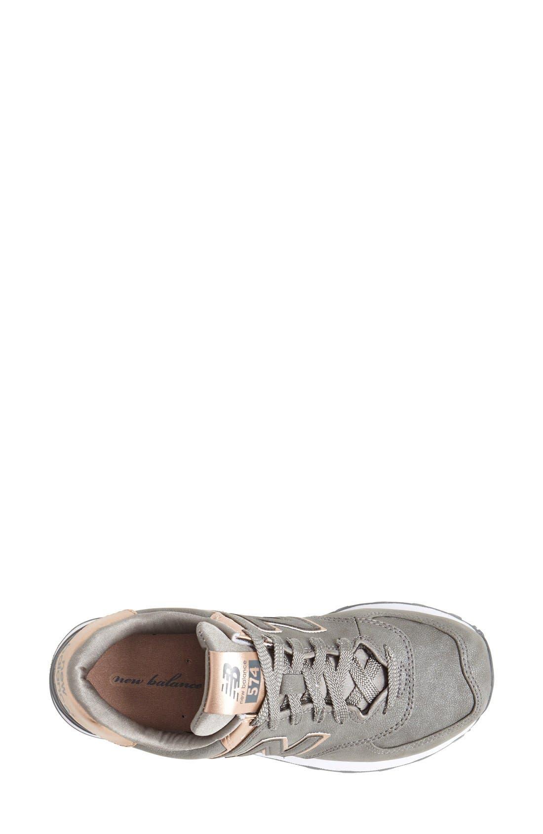 '574 - Precious Metals' Sneaker,                             Alternate thumbnail 4, color,                             040