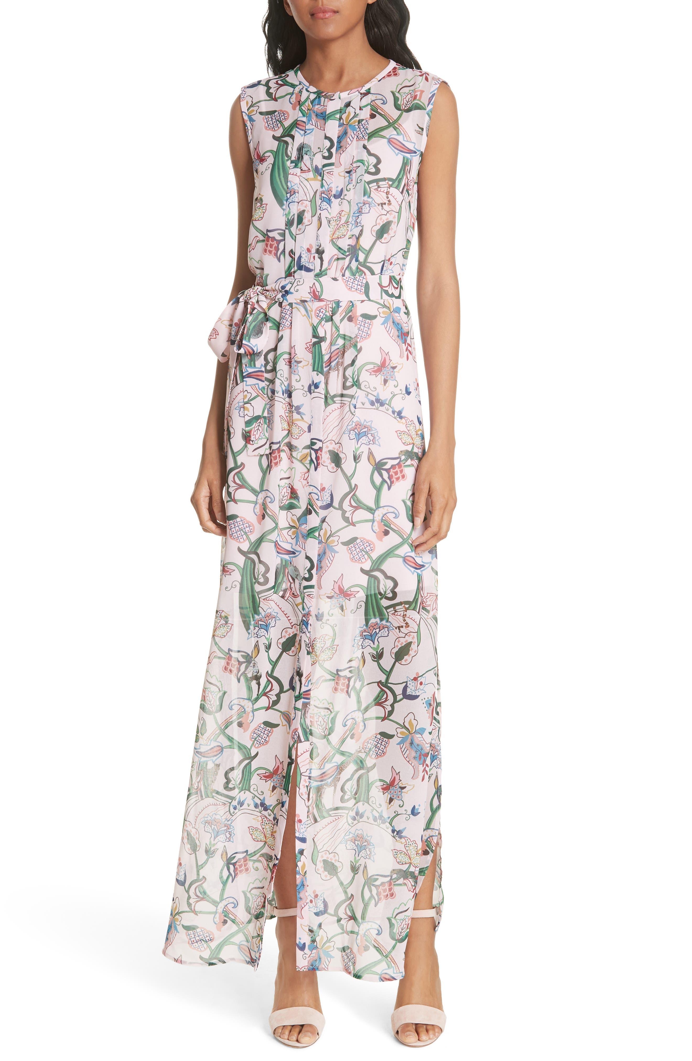 Susien Jungle Print Maxi Dress,                             Main thumbnail 1, color,
