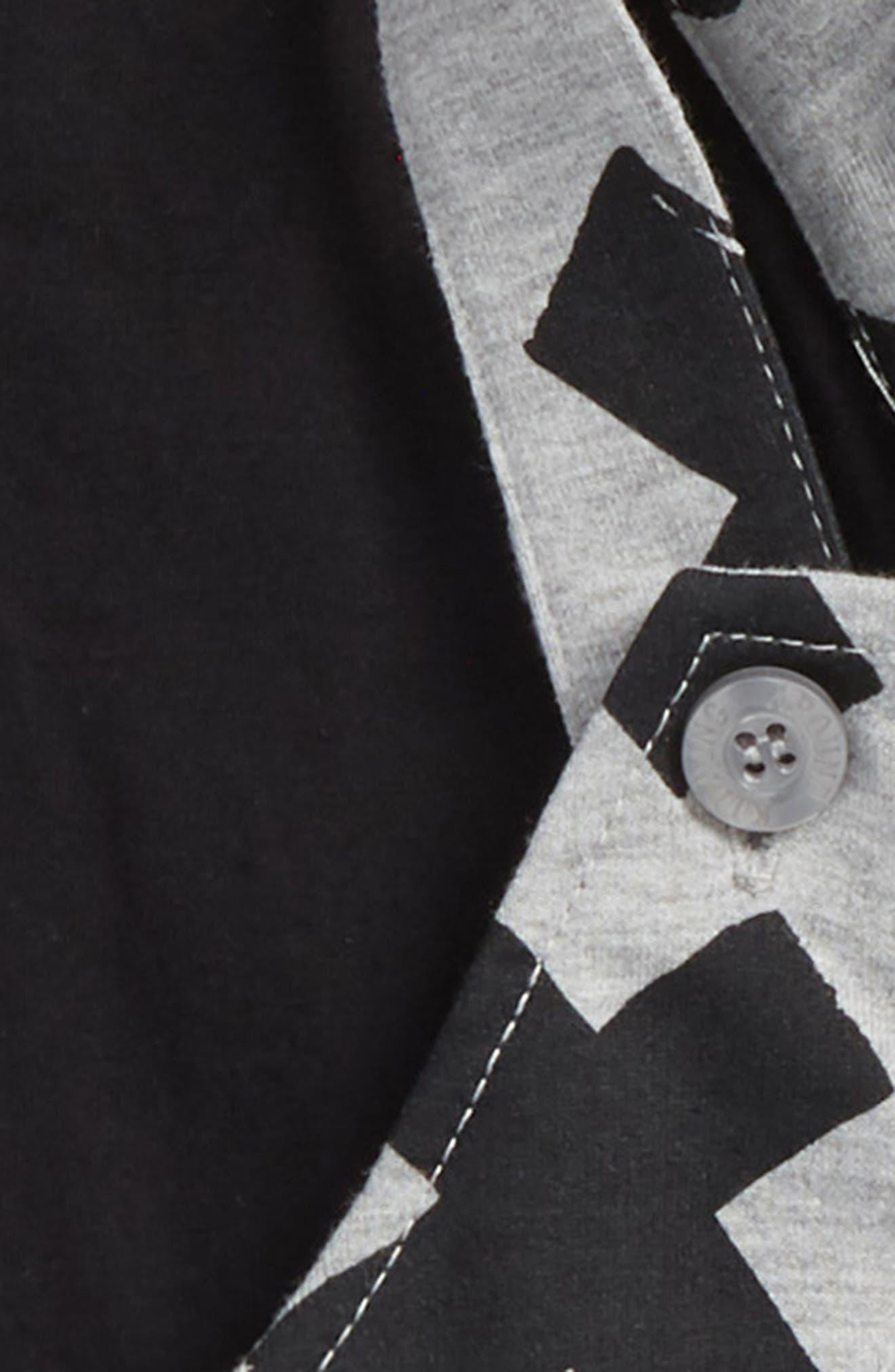 T-Shirt & Overalls Set,                             Alternate thumbnail 2, color,                             020