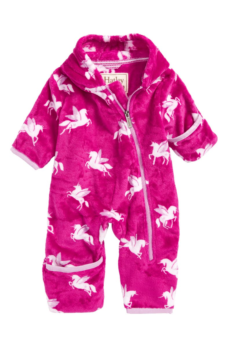 5b4b0c9608d0 Hatley Fuzzy Fleece Bundlers Snowsuit (Baby)