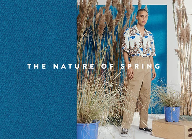 The nature of spring, men's designer collections 2019.