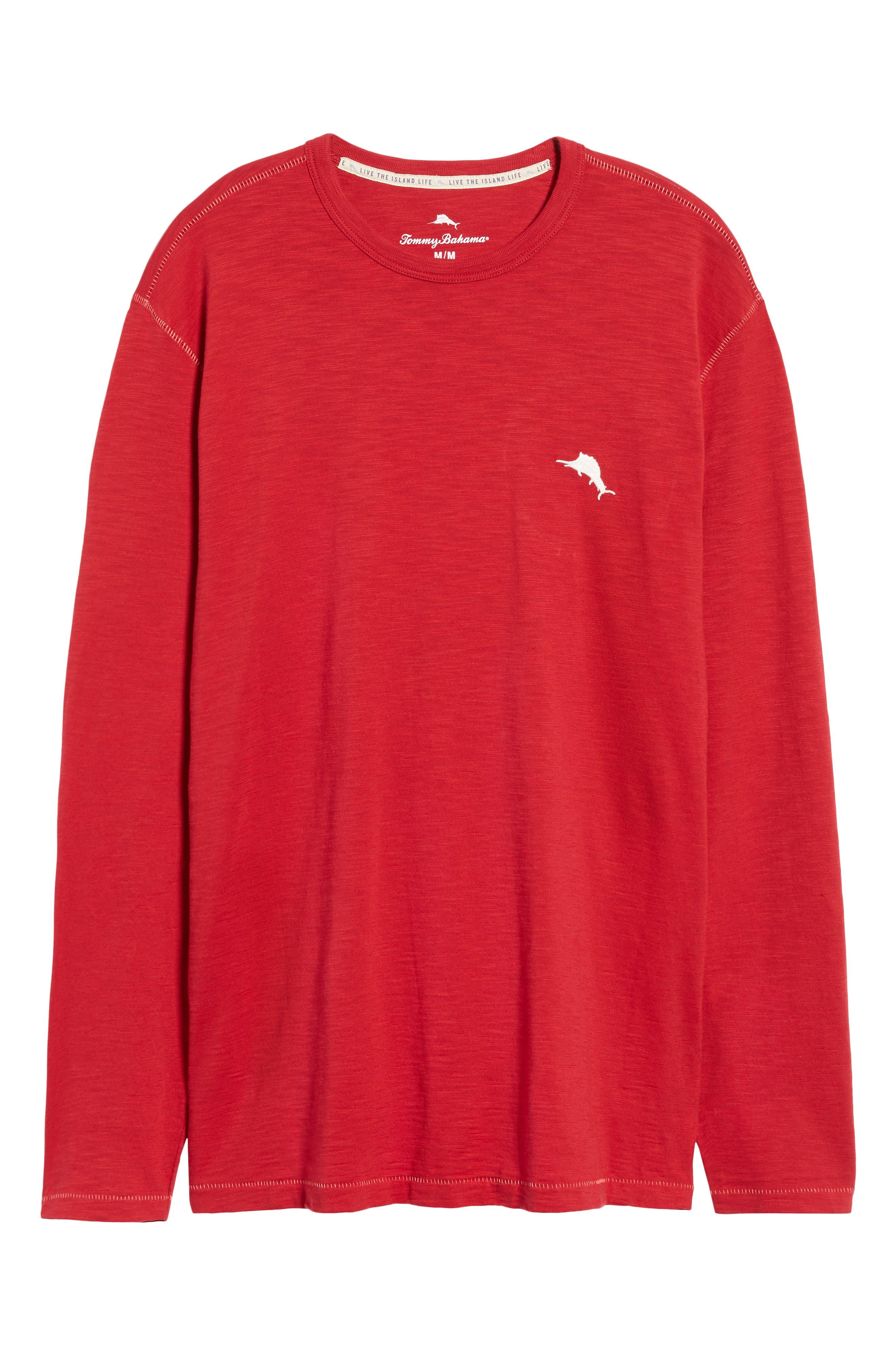 Mele Kalikimaka T-Shirt,                             Alternate thumbnail 6, color,                             SCOOTER RED
