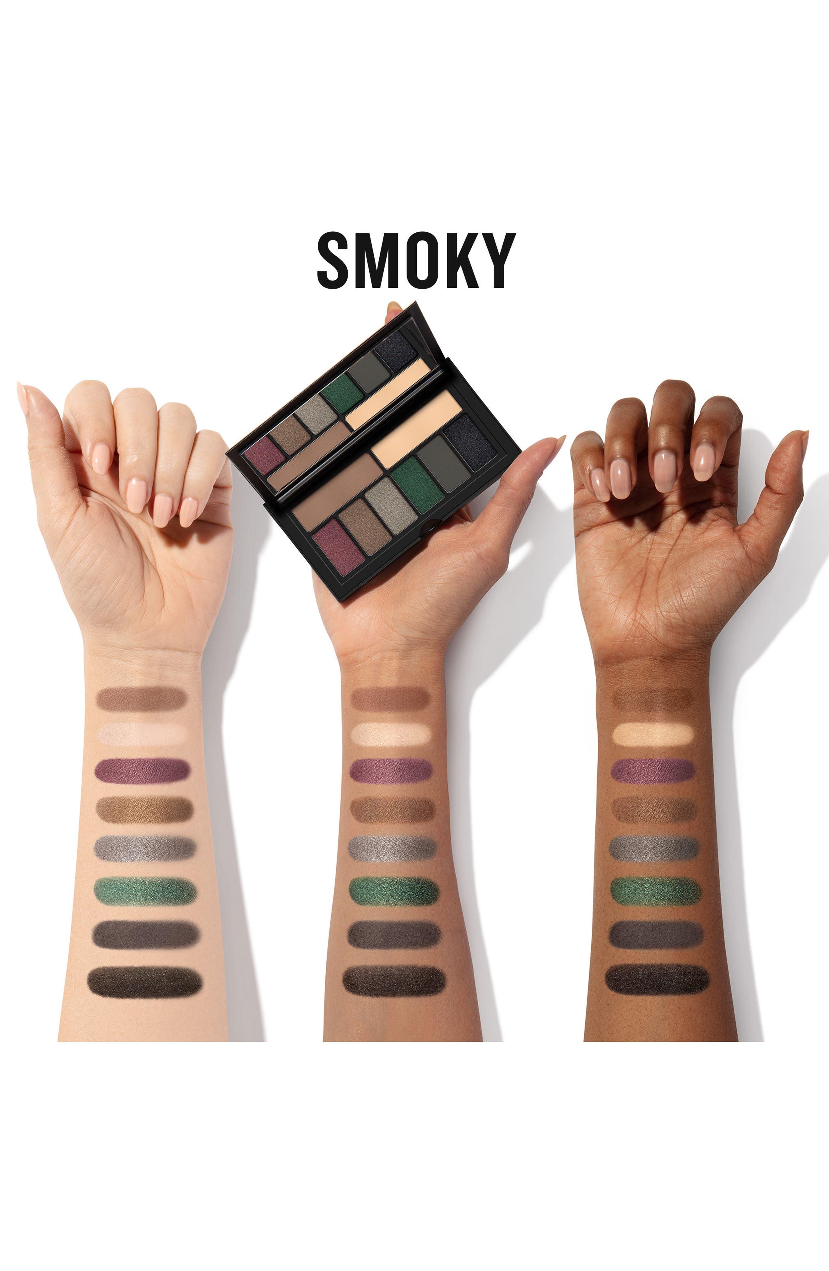 Cover Shot Smoky Eyeshadow Palette,                             Alternate thumbnail 2, color,                             SMOKY