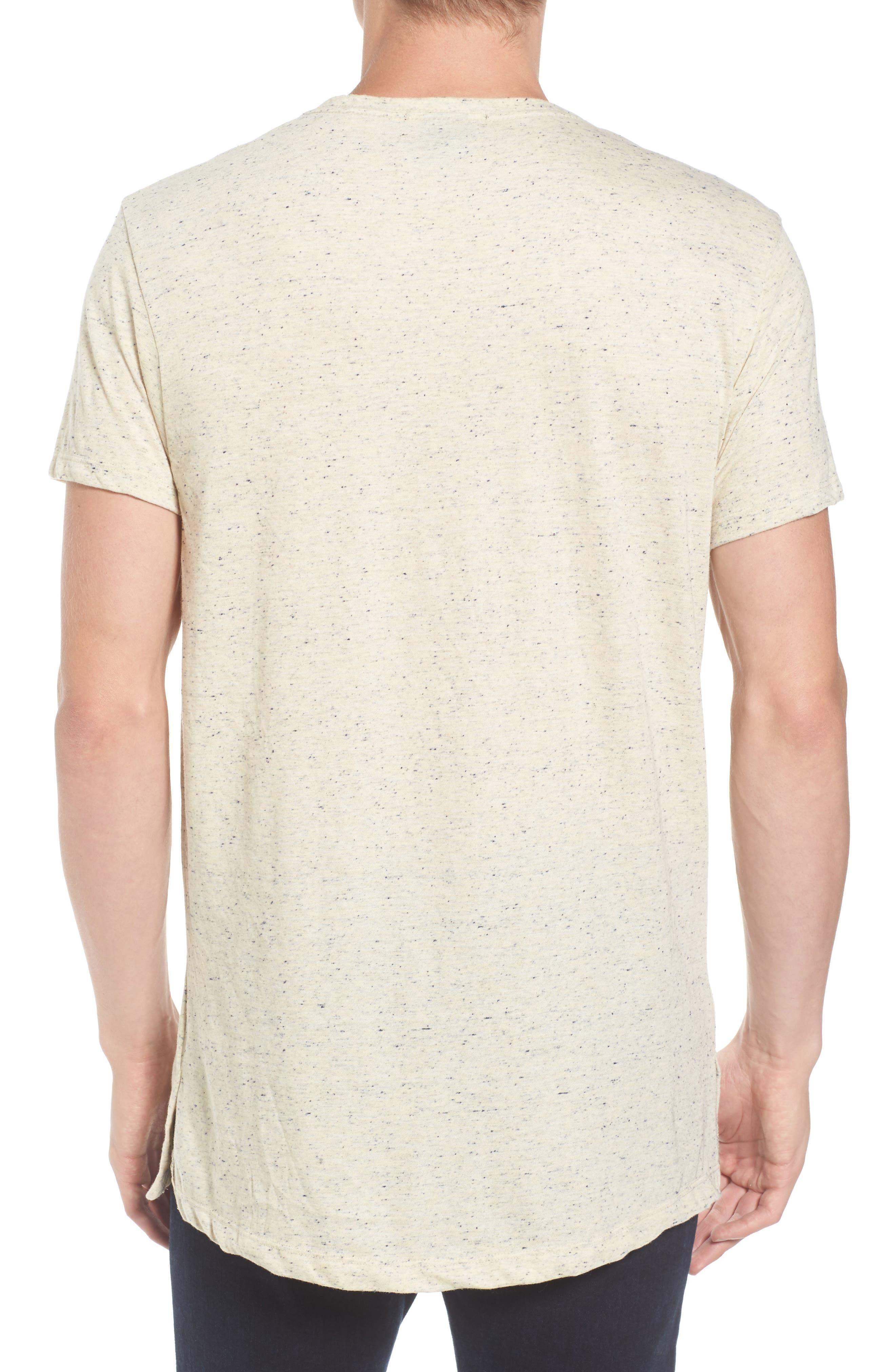 Mélange Jersey T-Shirt,                             Alternate thumbnail 5, color,