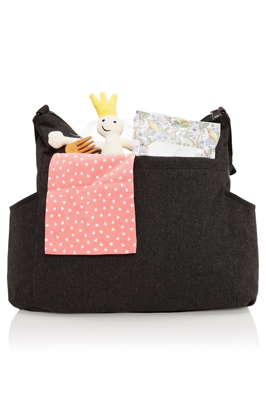 'Frankie' Diaper Bag,                             Alternate thumbnail 35, color,