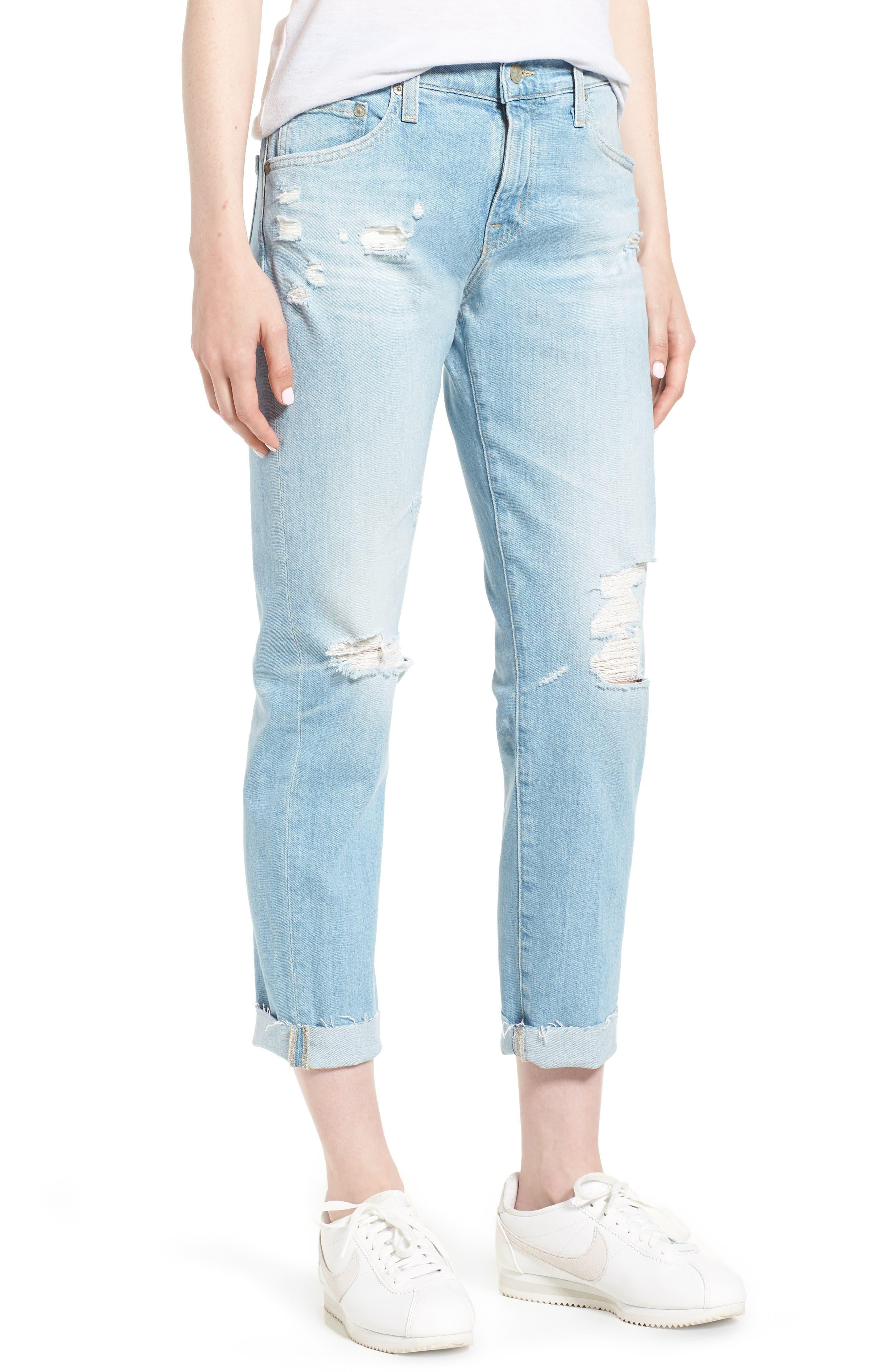 The Ex-Boyfriend Crop Slim Jeans,                             Main thumbnail 1, color,                             426