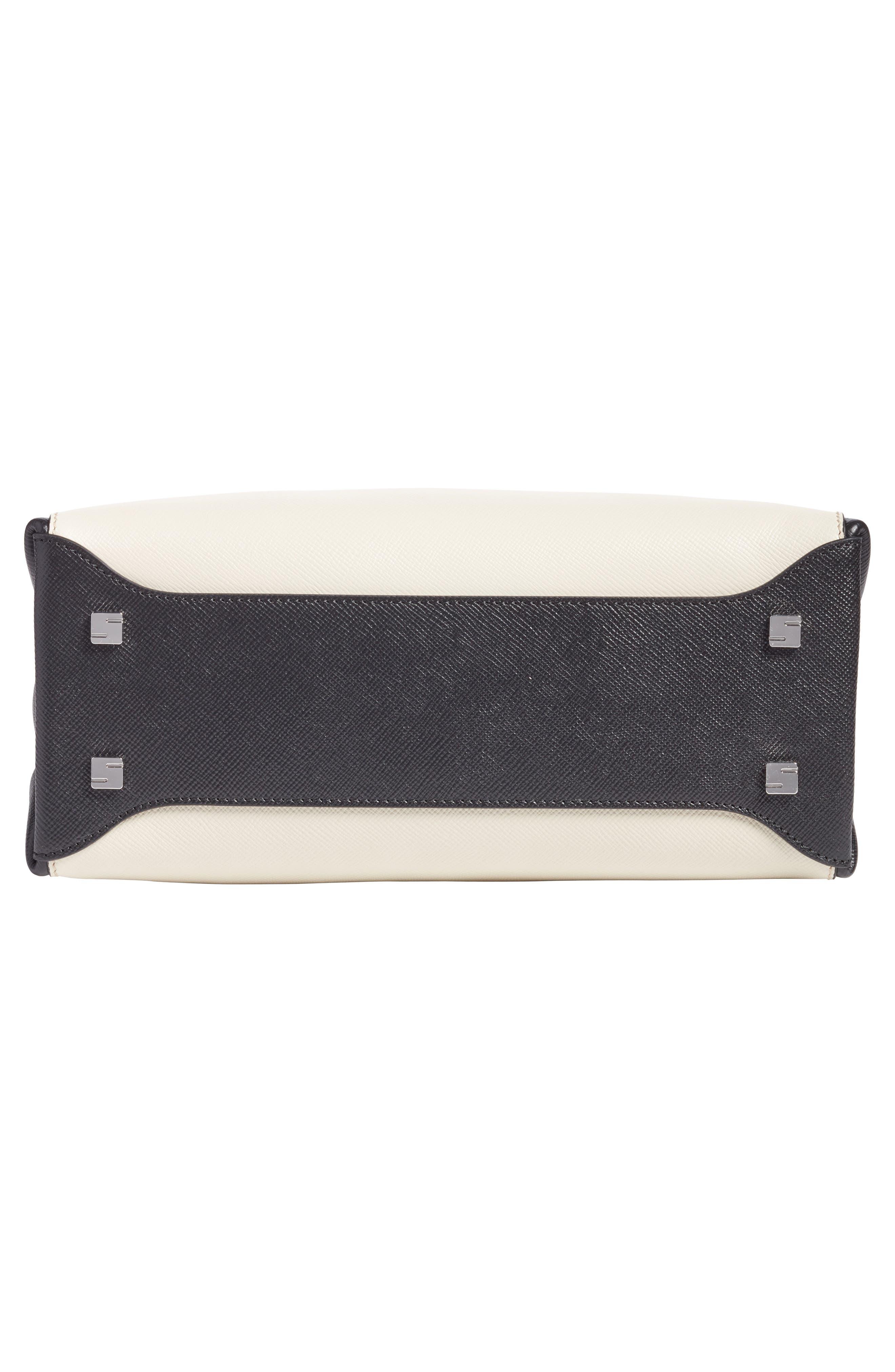Small Meline Evolution Leather Bag,                             Alternate thumbnail 22, color,
