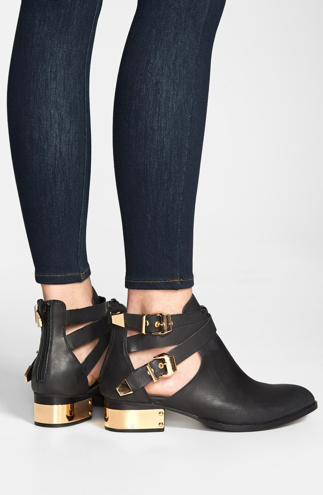JEFFREY CAMPBELL,                             'Everly' Bootie,                             Alternate thumbnail 3, color,                             002