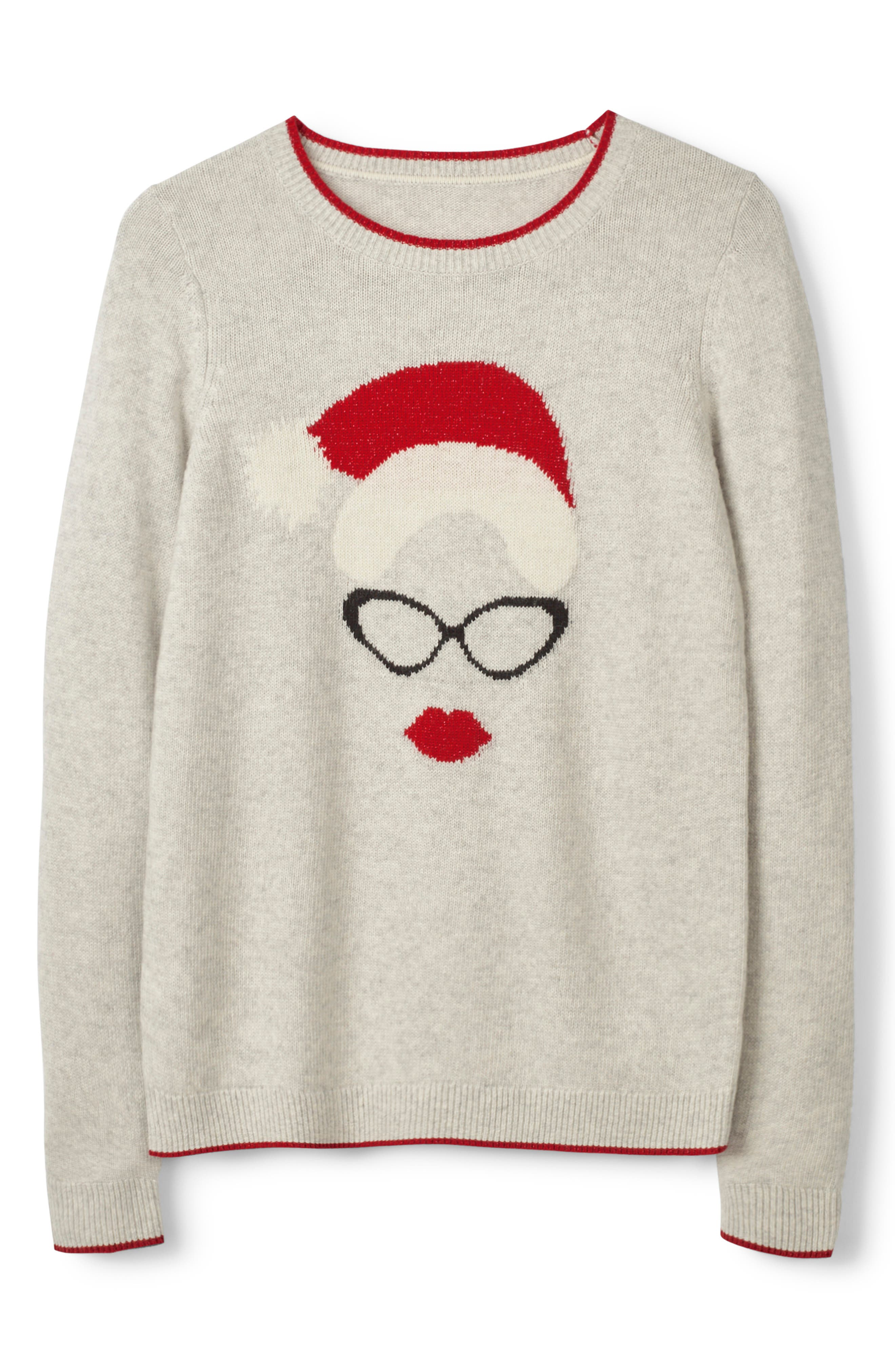 Holiday Sweater,                             Alternate thumbnail 5, color,                             024