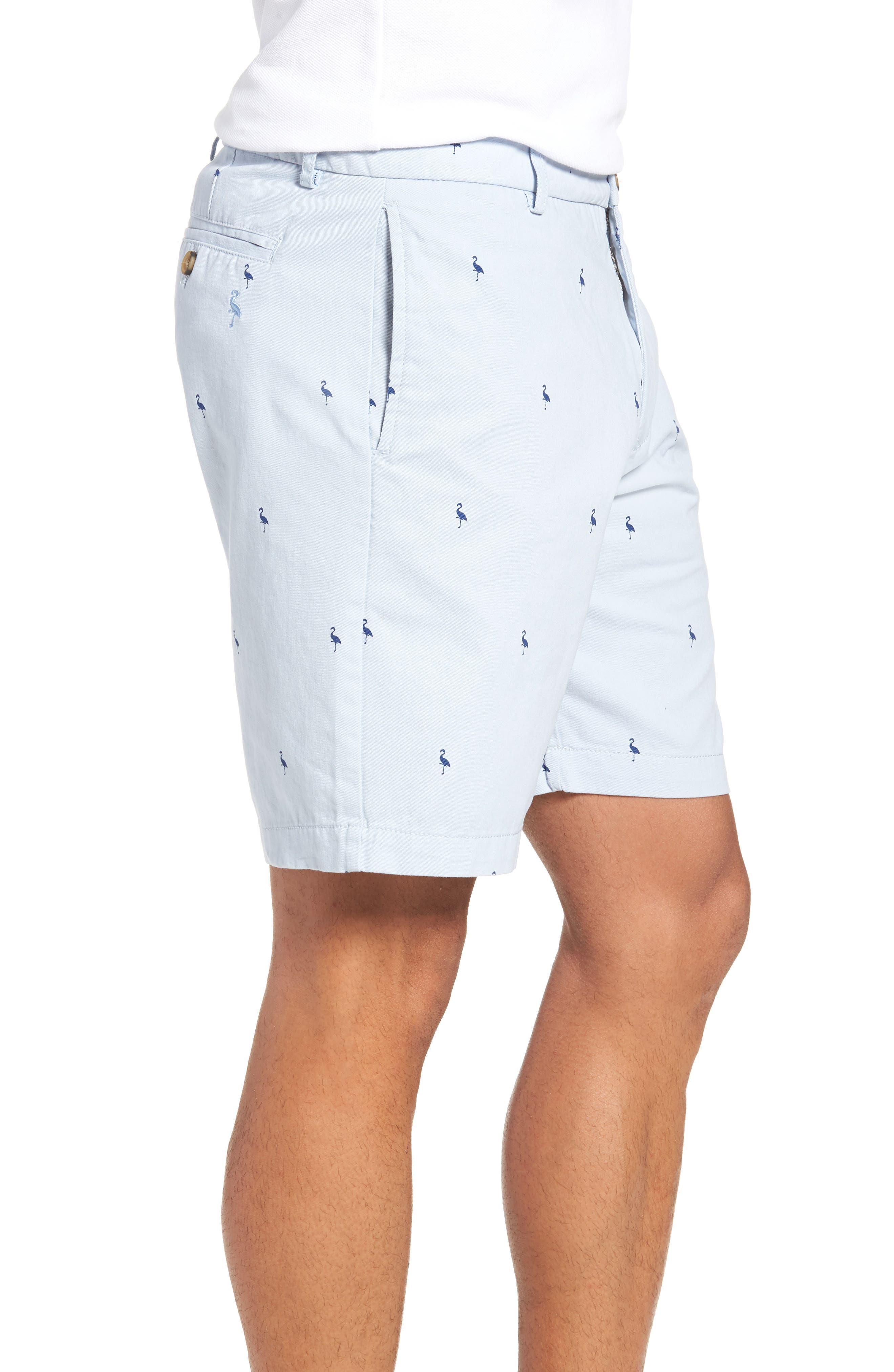 Aiden Bird Regular Fit Chino Shorts,                             Alternate thumbnail 3, color,