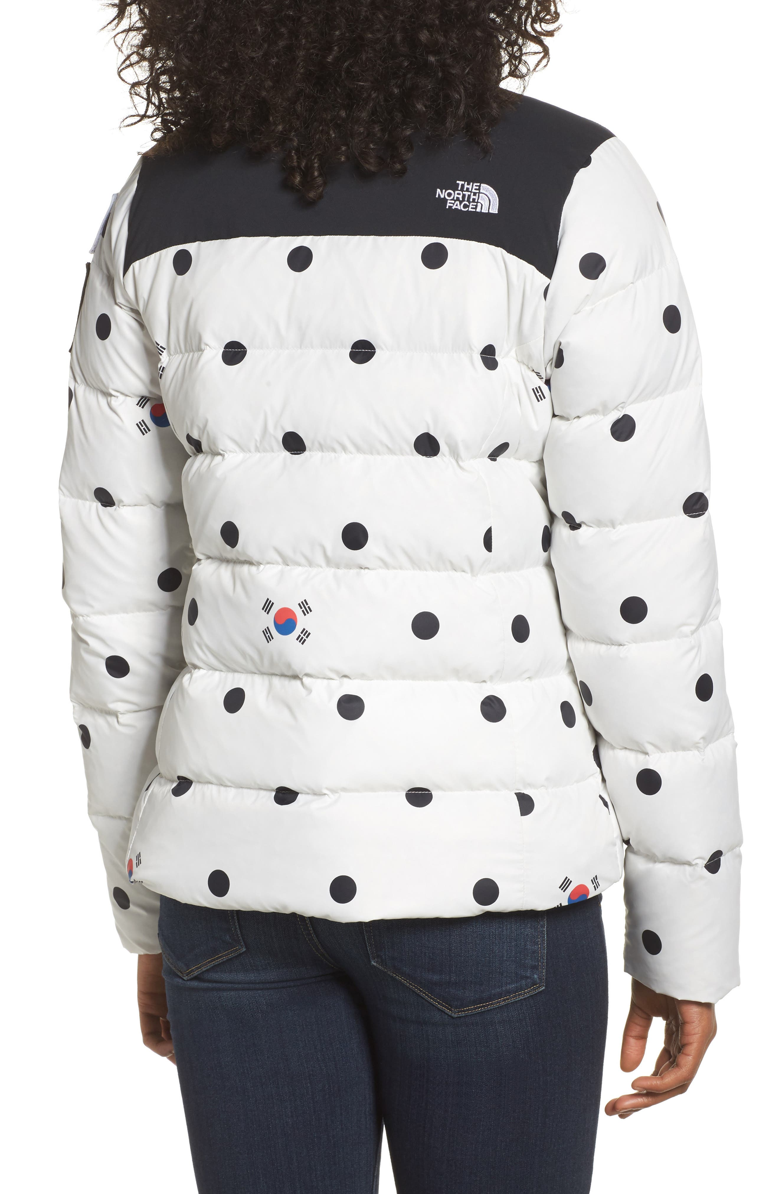 International Collection Nuptse 700-Fill Power Down Puffer Jacket,                             Alternate thumbnail 3, color,