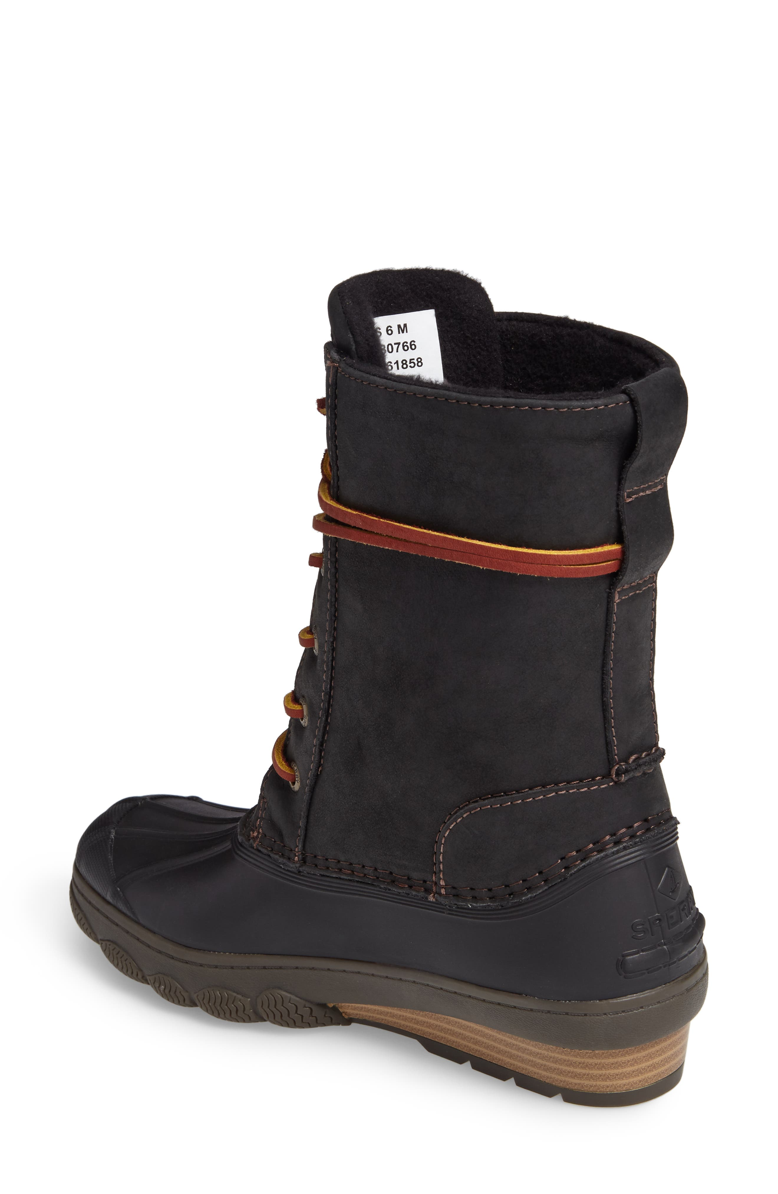 Saltwater Wedge Reeve Waterproof Boot,                             Alternate thumbnail 2, color,                             001