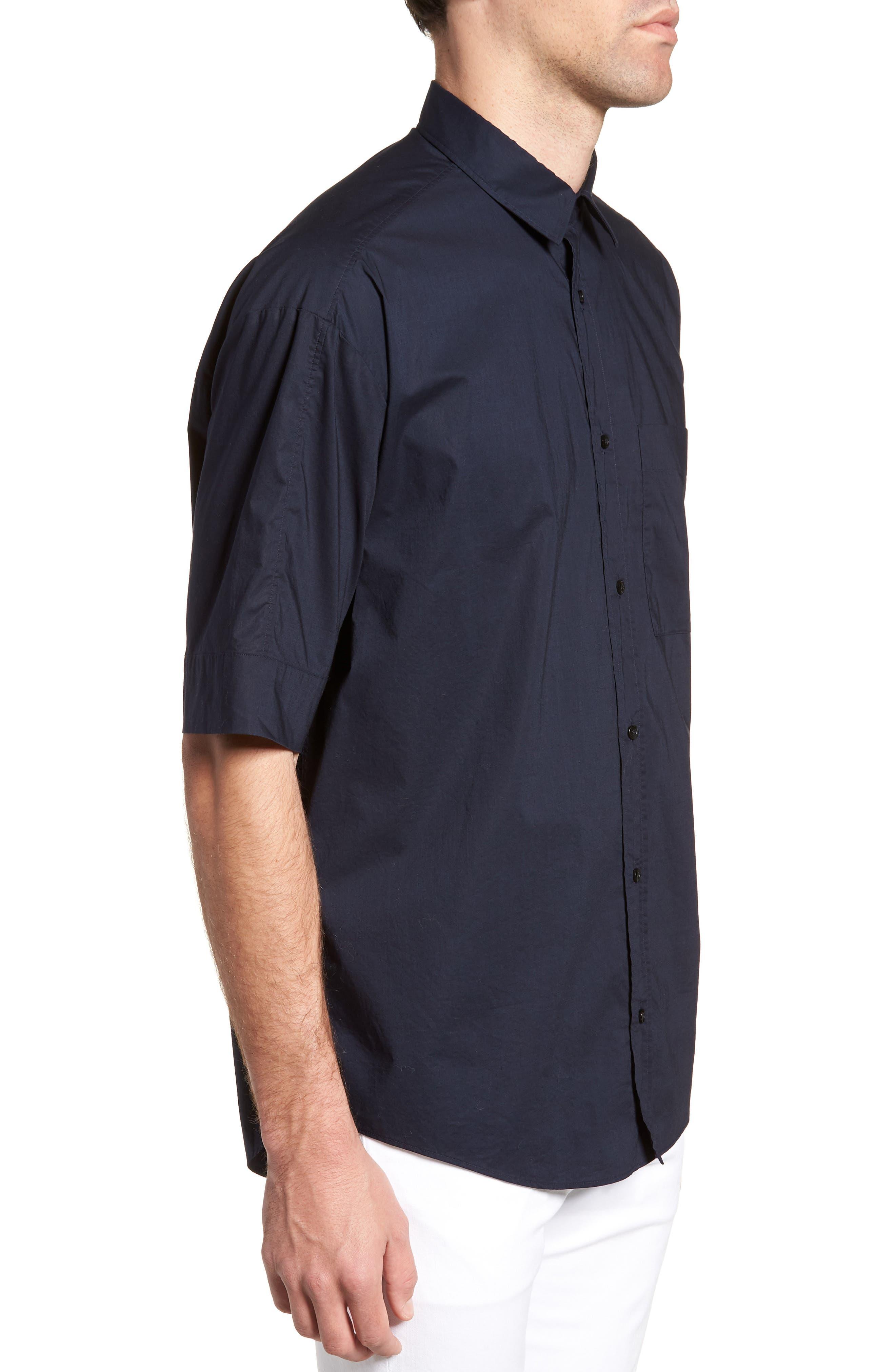 Eynold Oversized Short Sleeve Sport Shirt,                             Alternate thumbnail 3, color,                             413