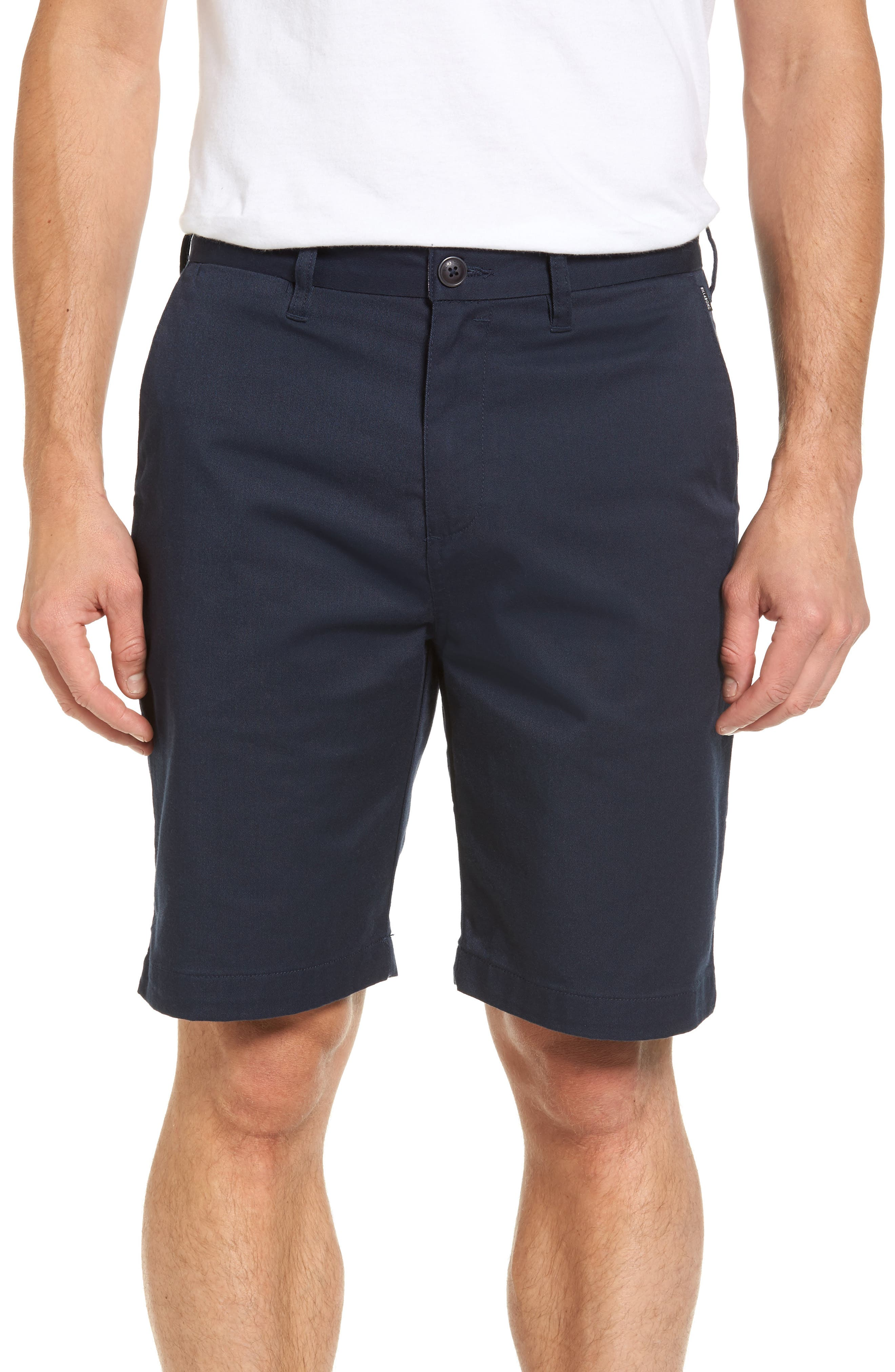 Carter Stretch Twill Shorts,                             Main thumbnail 4, color,