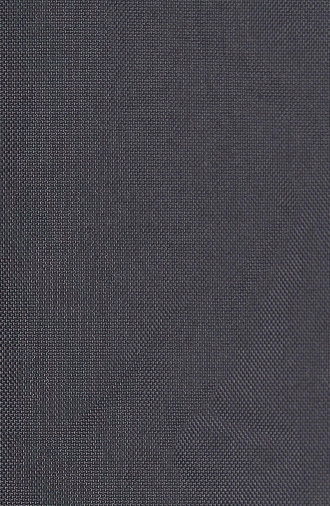 Denim Panel Jacket,                             Alternate thumbnail 6, color,                             001