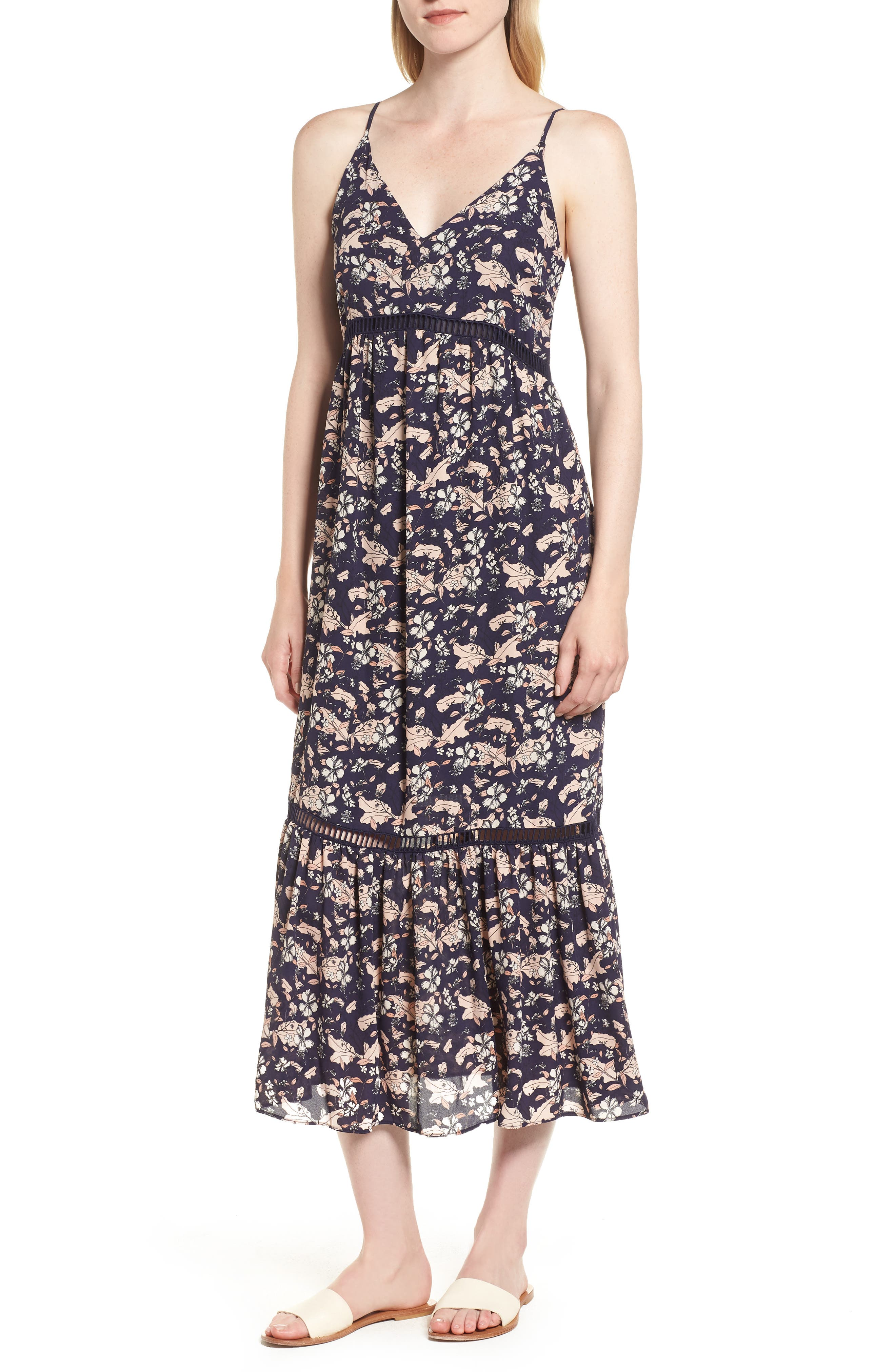 Ivy Forest Maxi Dress,                             Main thumbnail 3, color,
