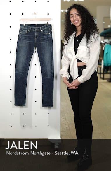 'Racer' Whiskered Skinny Jeans, sales video thumbnail