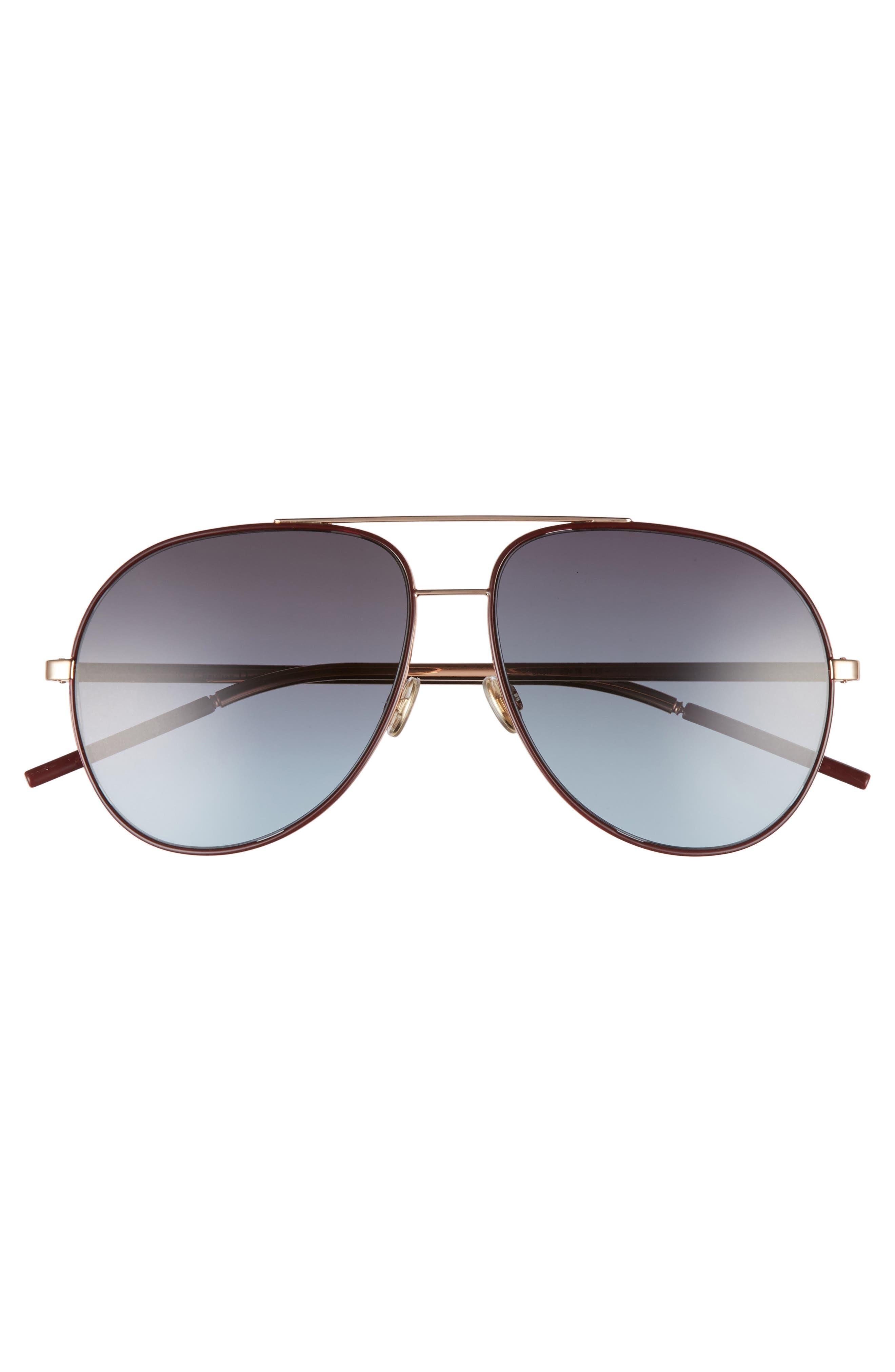Astrals 59mm Aviator Sunglasses,                             Alternate thumbnail 12, color,