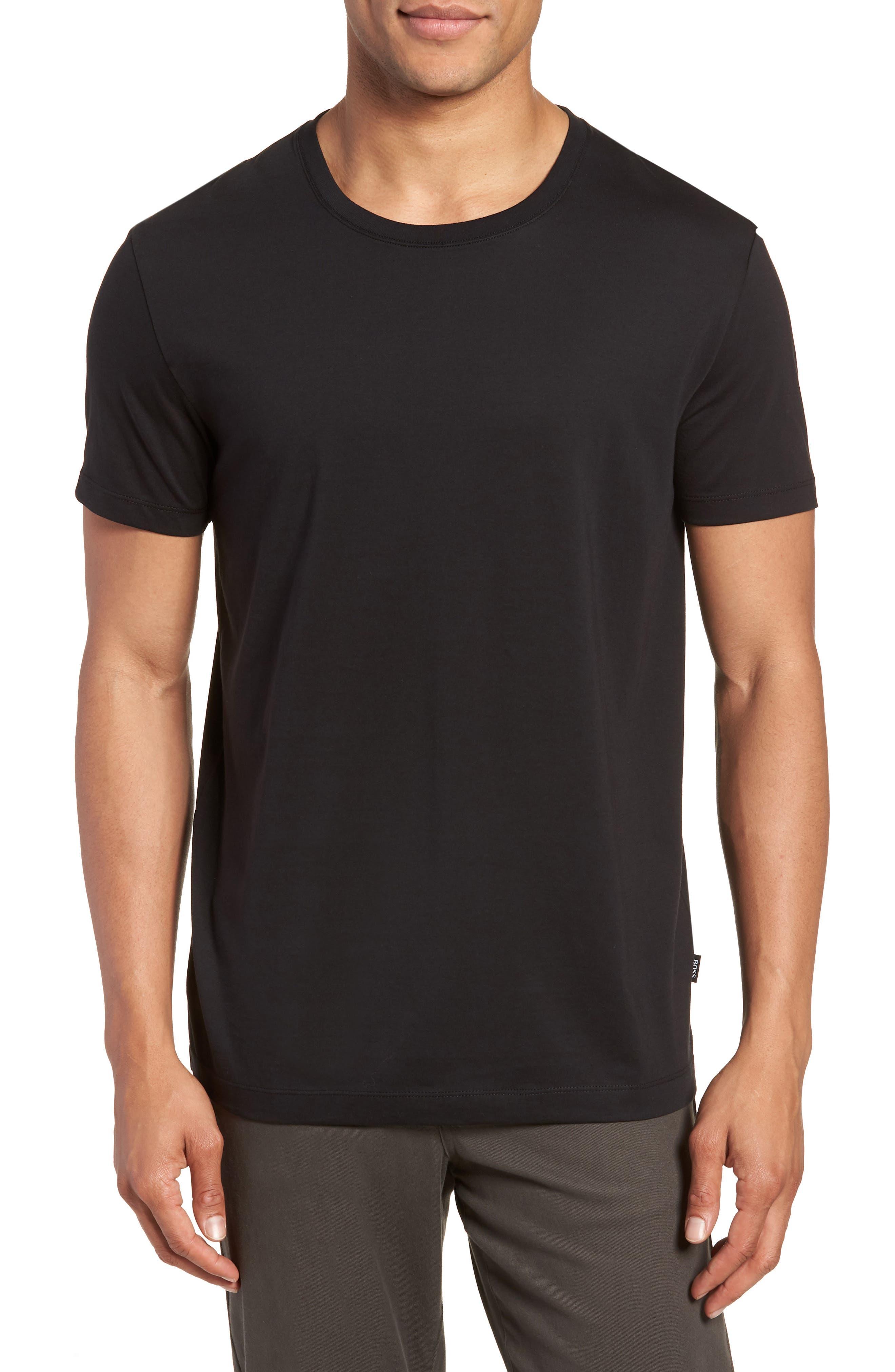 Tiburt Regular Fit Crewneck T-Shirt,                             Main thumbnail 1, color,                             001