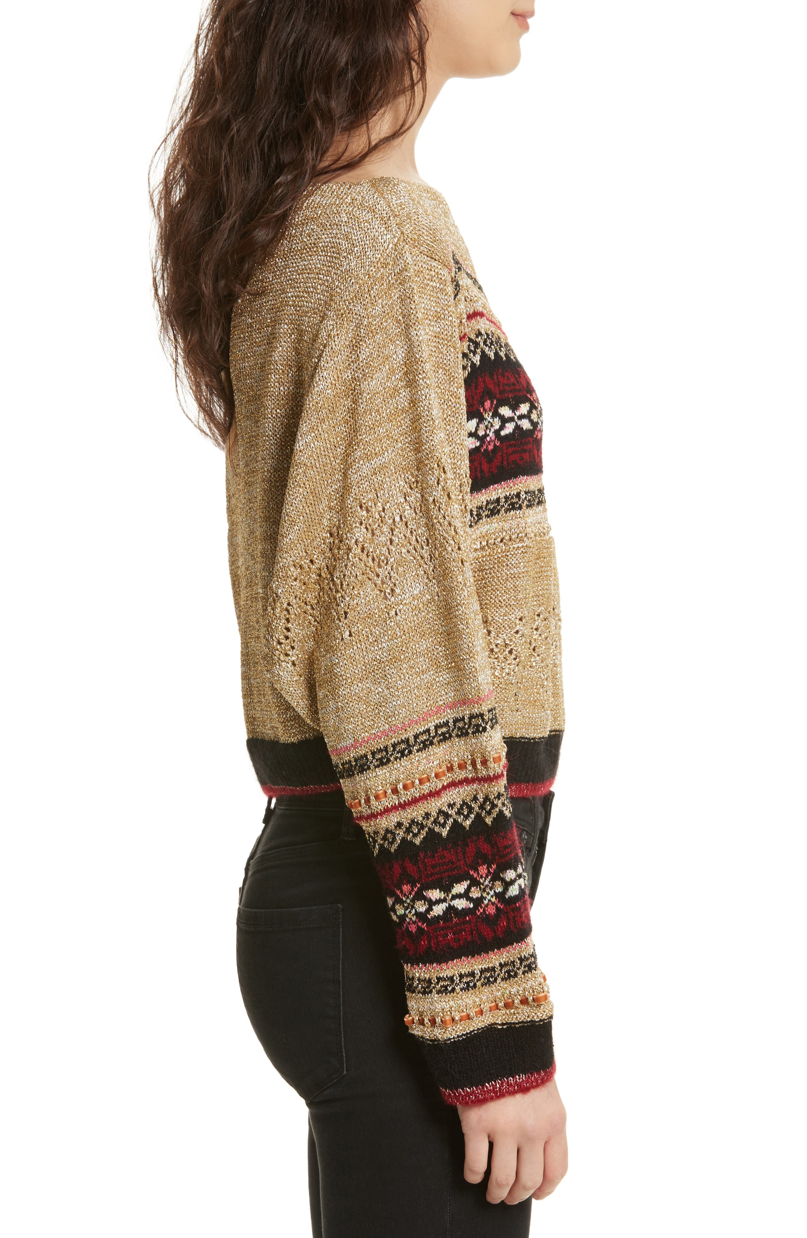 Ski Lake Sweater,                             Alternate thumbnail 3, color,                             297