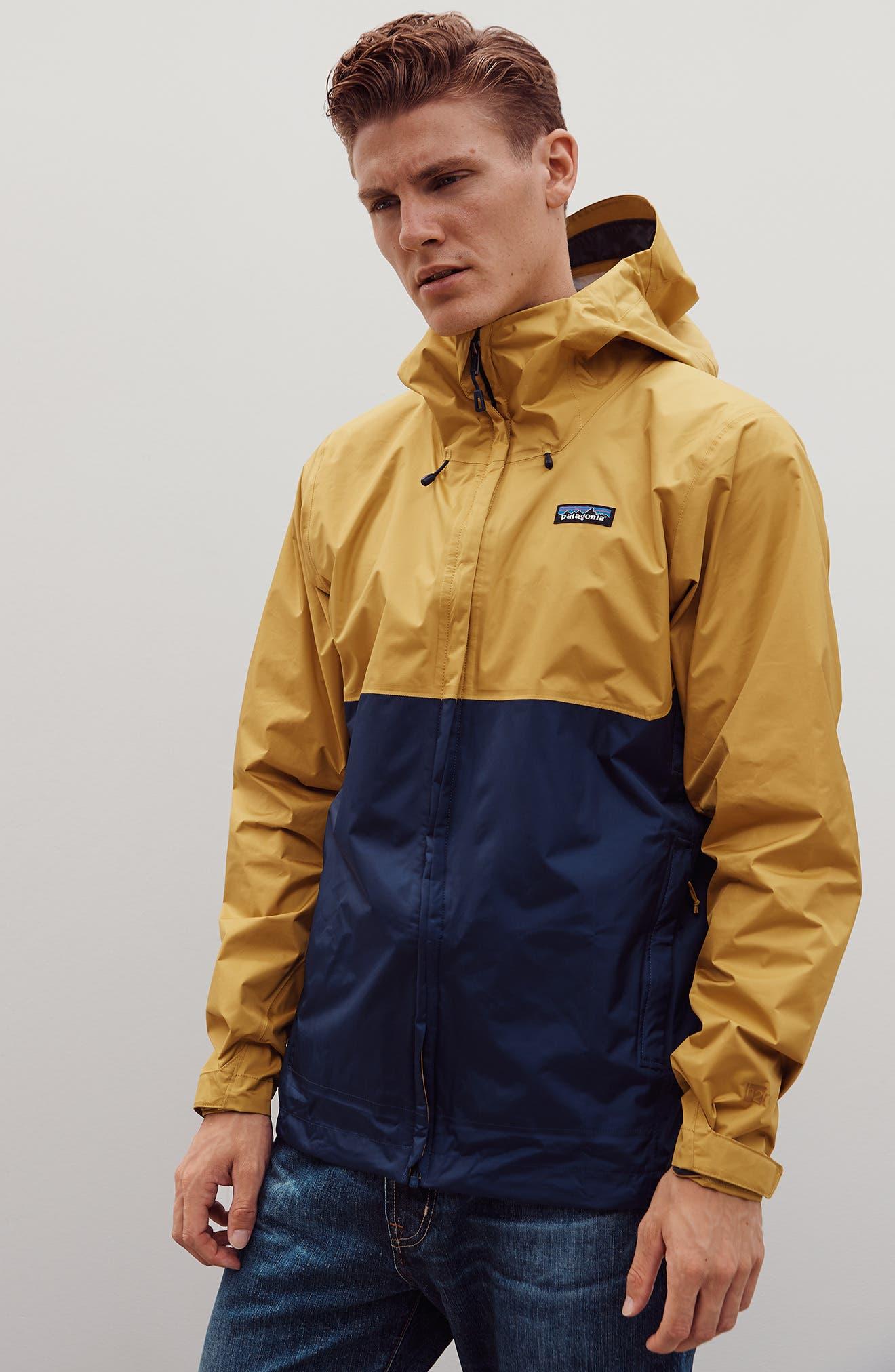 Torrentshell Packable Rain Jacket,                             Alternate thumbnail 9, color,                             BLACK