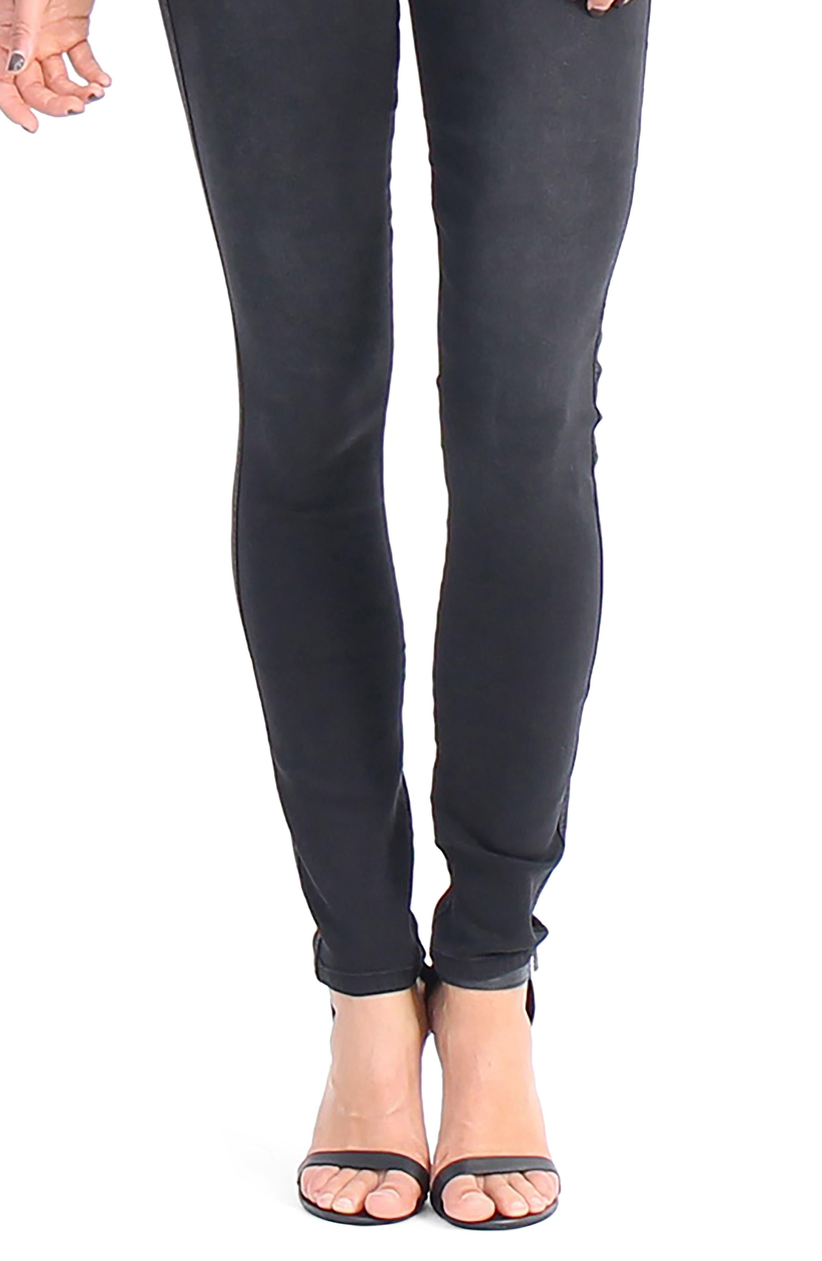 Devon Pull On Skinny Jeans,                             Alternate thumbnail 4, color,                             003