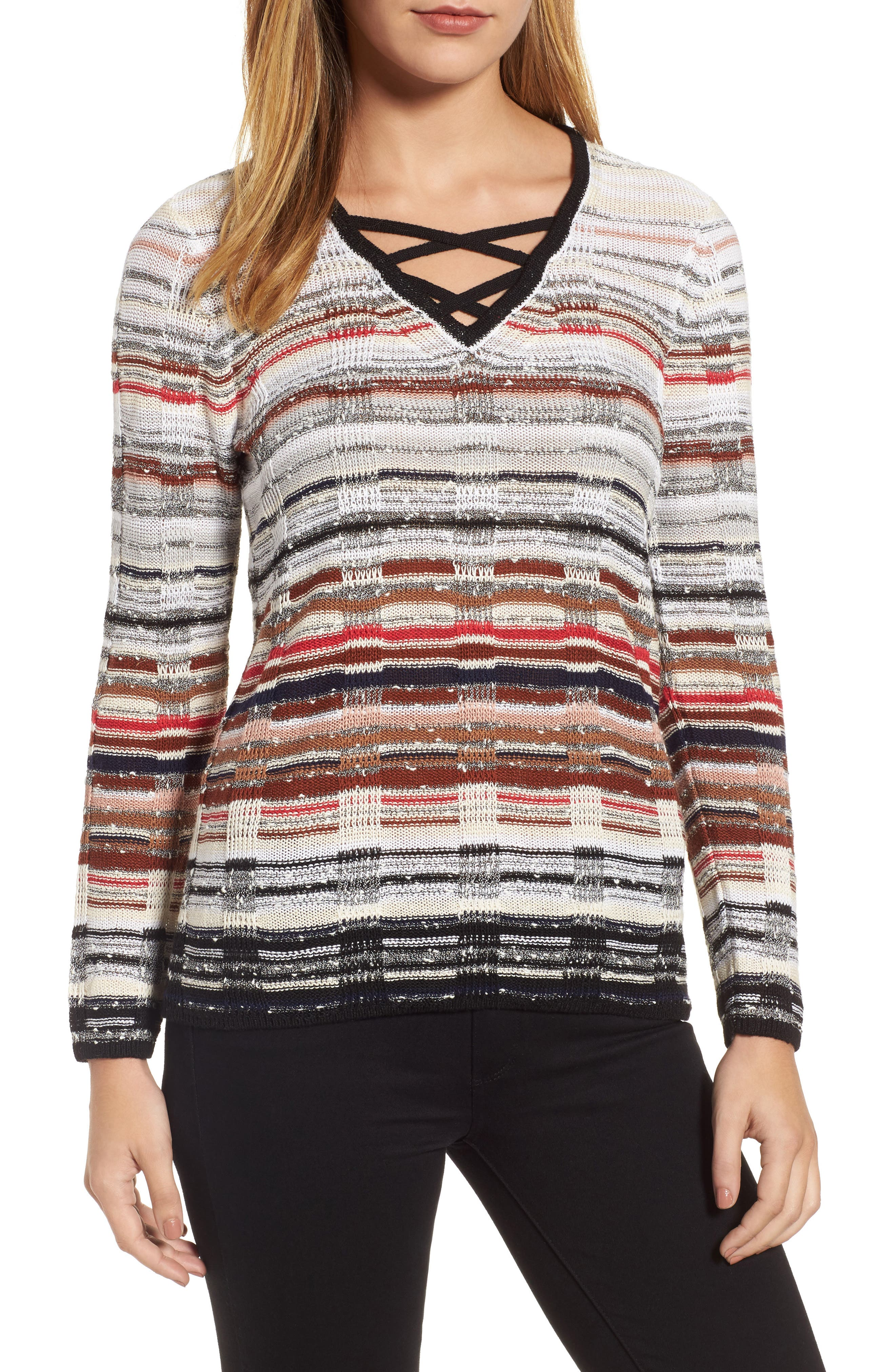Red Hills Sweater,                             Main thumbnail 1, color,                             609