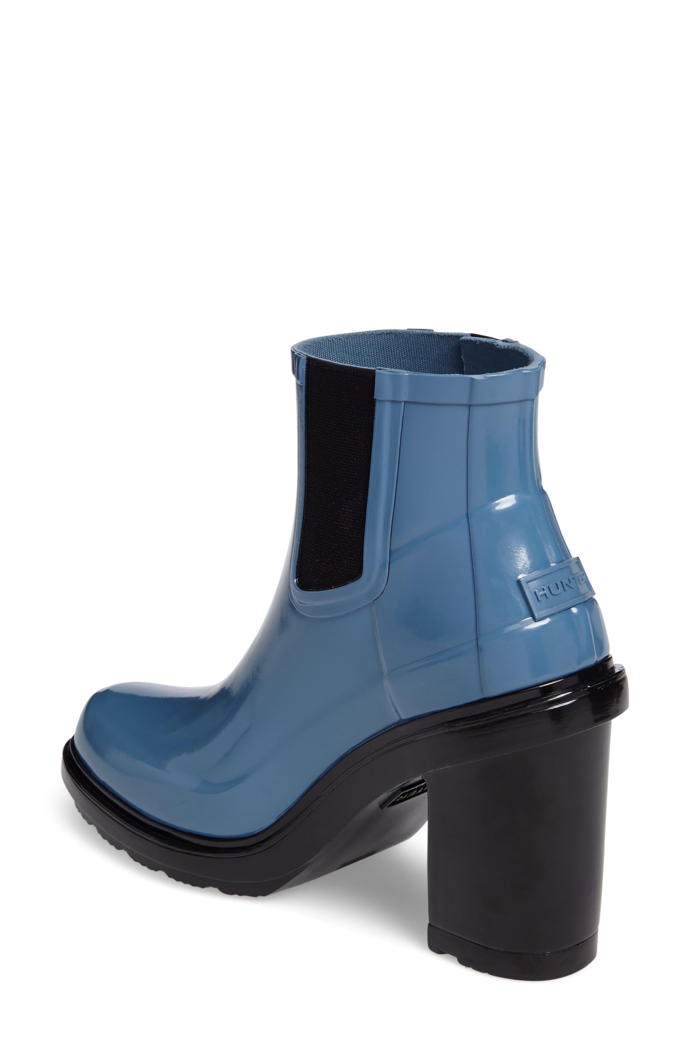 'Original Refined' Chelsea Rain Boot,                             Alternate thumbnail 7, color,