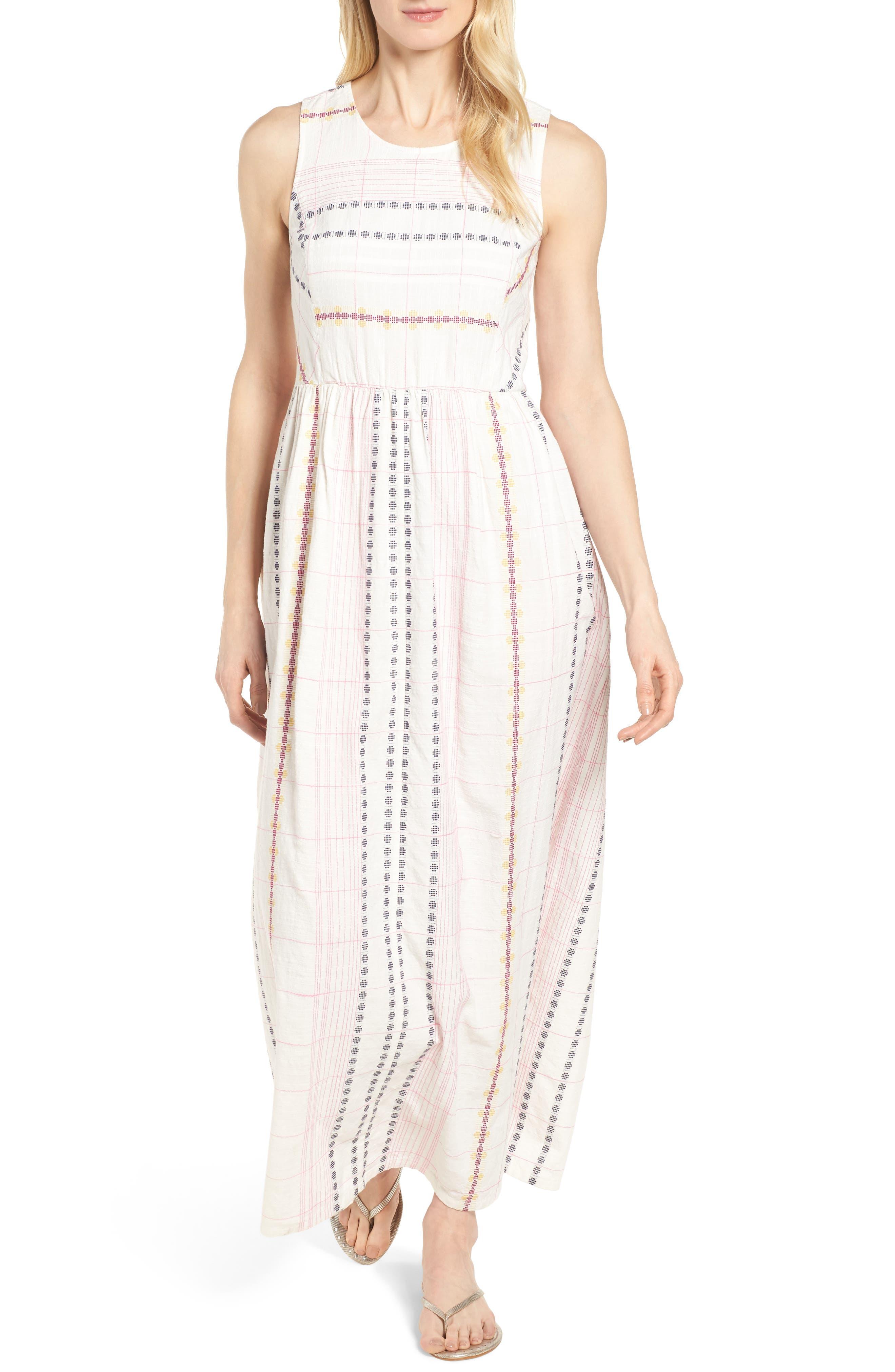 Smocked Back Maxi Dress,                             Main thumbnail 1, color,