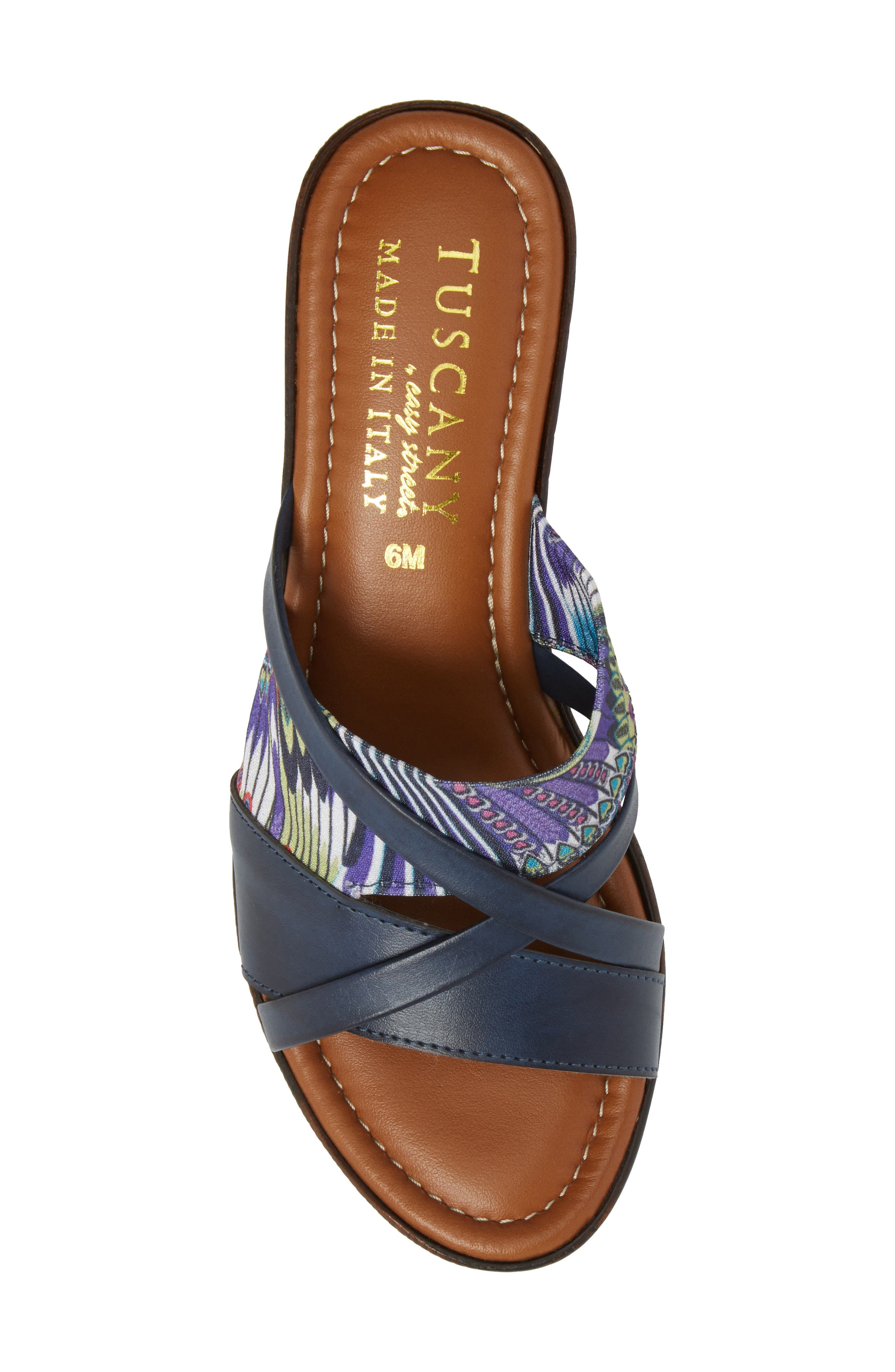 by East Street<sup>®</sup> Lucette Strappy Wedge Mule,                             Alternate thumbnail 24, color,