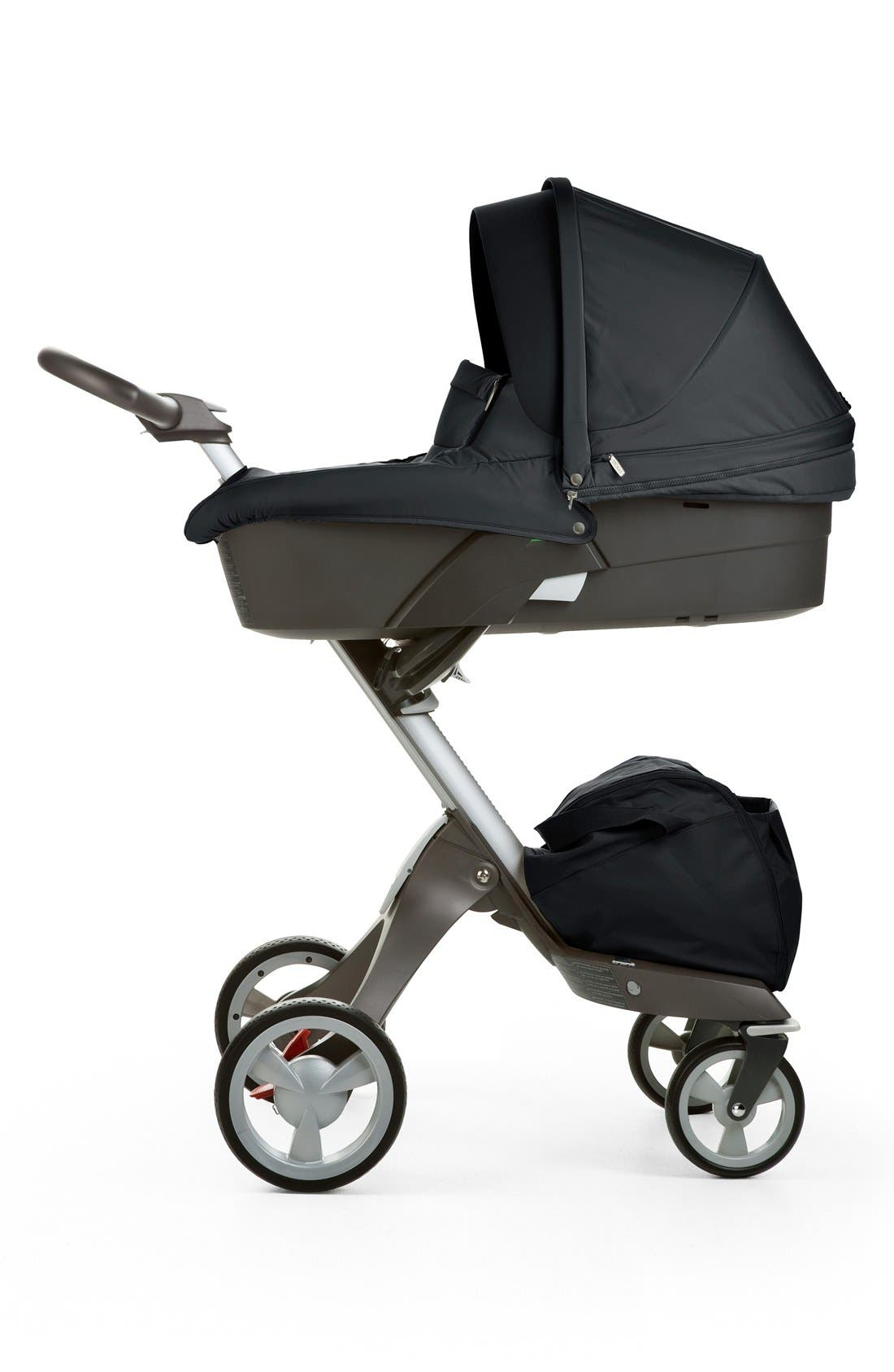 STOKKE,                             'Xplory<sup>®</sup>' Stroller Carry Cot,                             Alternate thumbnail 2, color,                             001